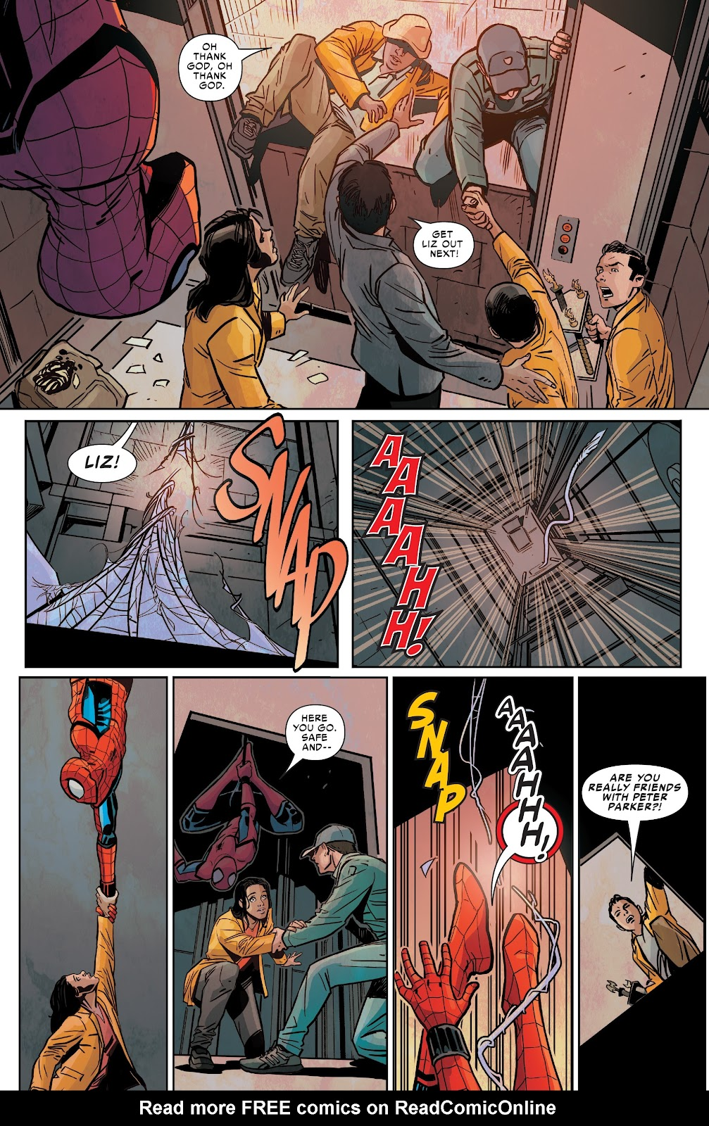 Read online Spider-Man: Far From Home Prelude comic -  Issue #2 - 4