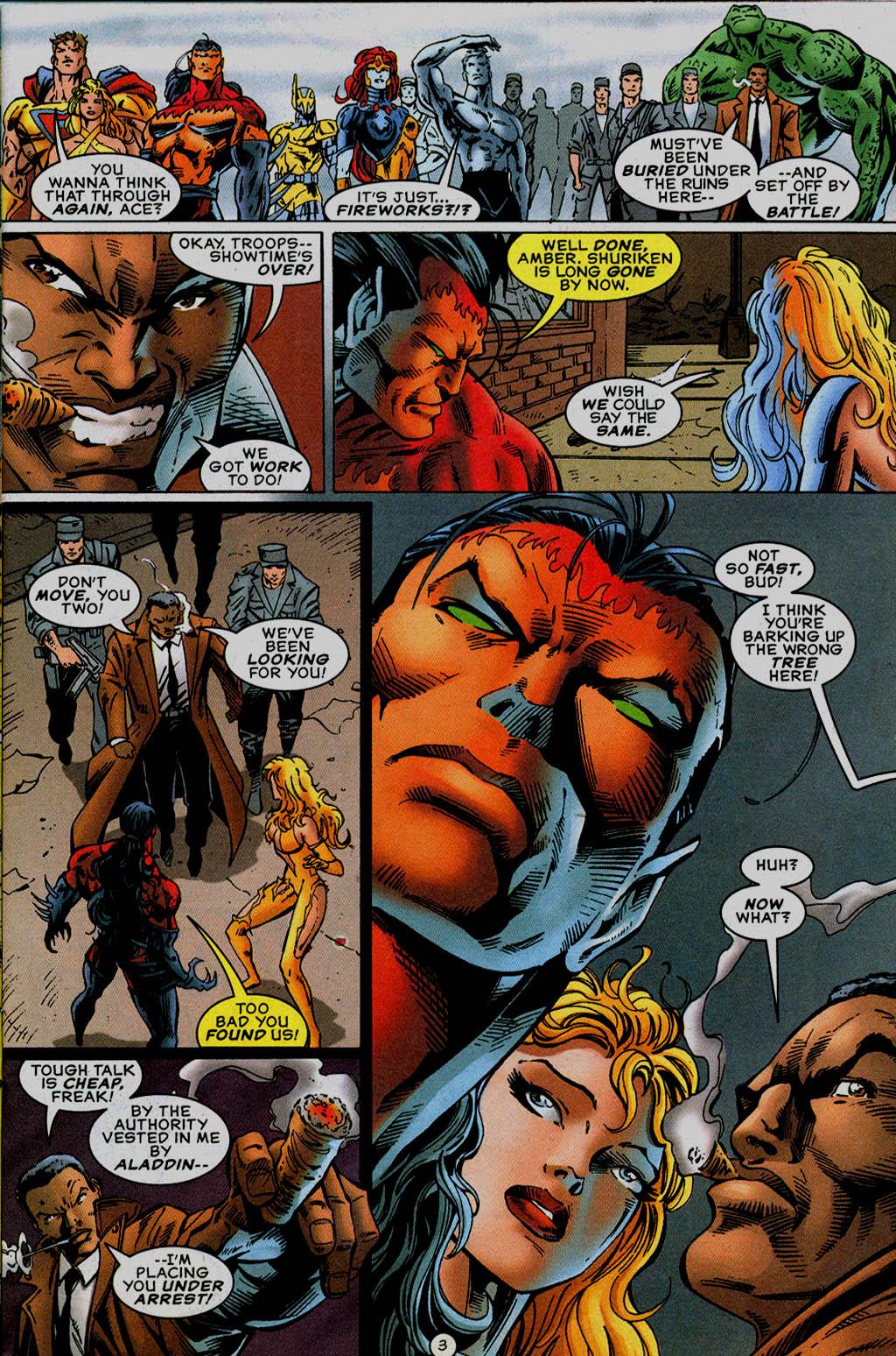 Read online UltraForce (1995) comic -  Issue #13 - 4