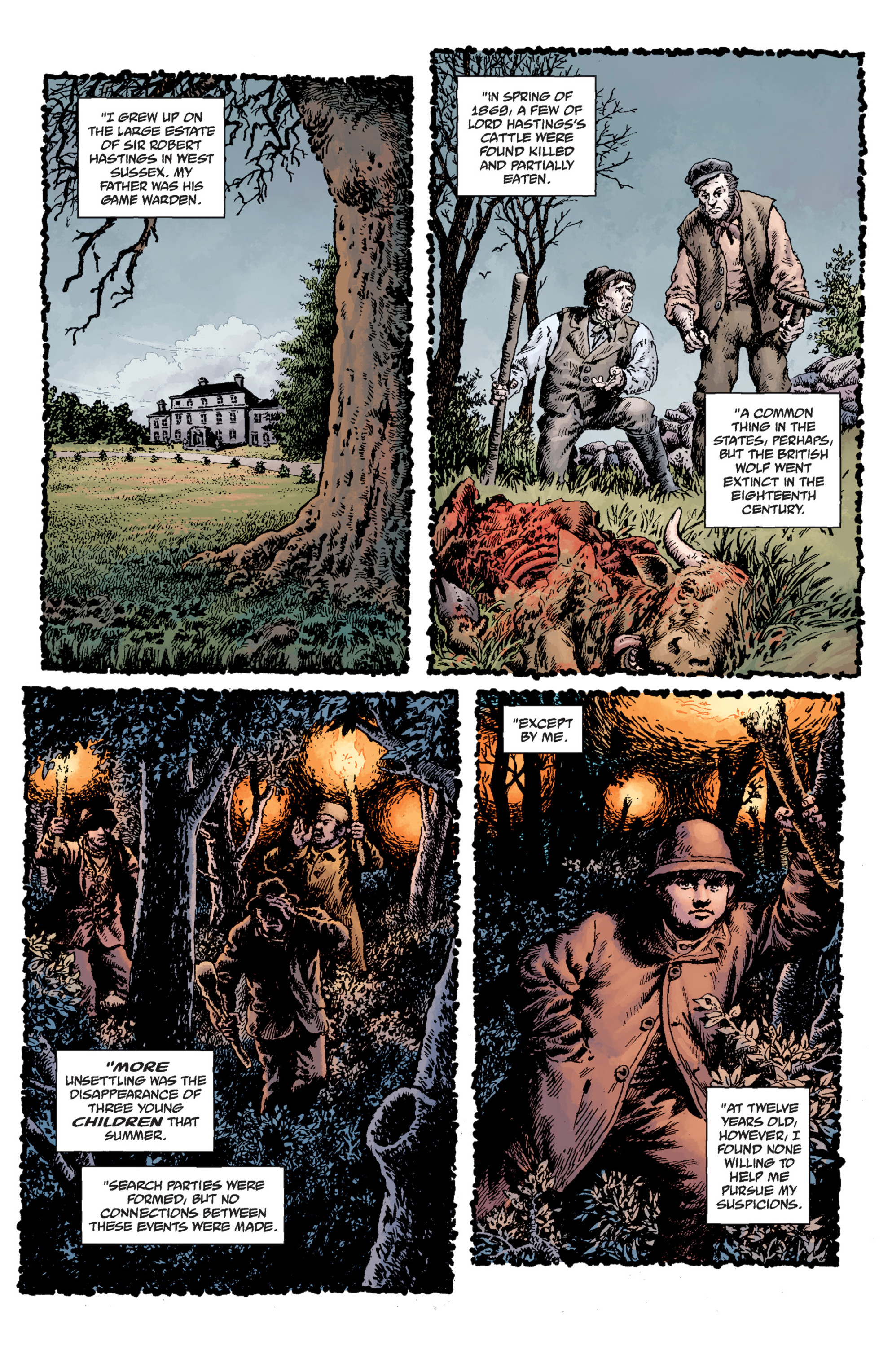 Read online Sir Edward Grey, Witchfinder: Lost and Gone Forever comic -  Issue # TPB - 41
