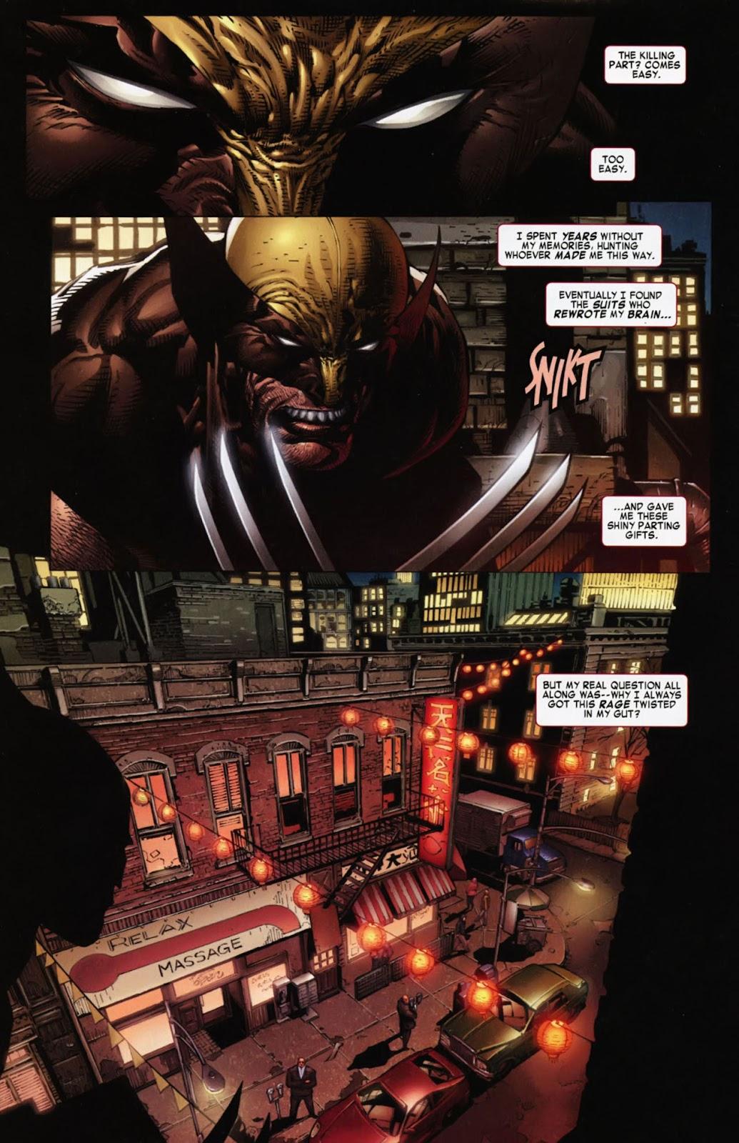 Read online Wolverine (2003) comic -  Issue #900 - 4