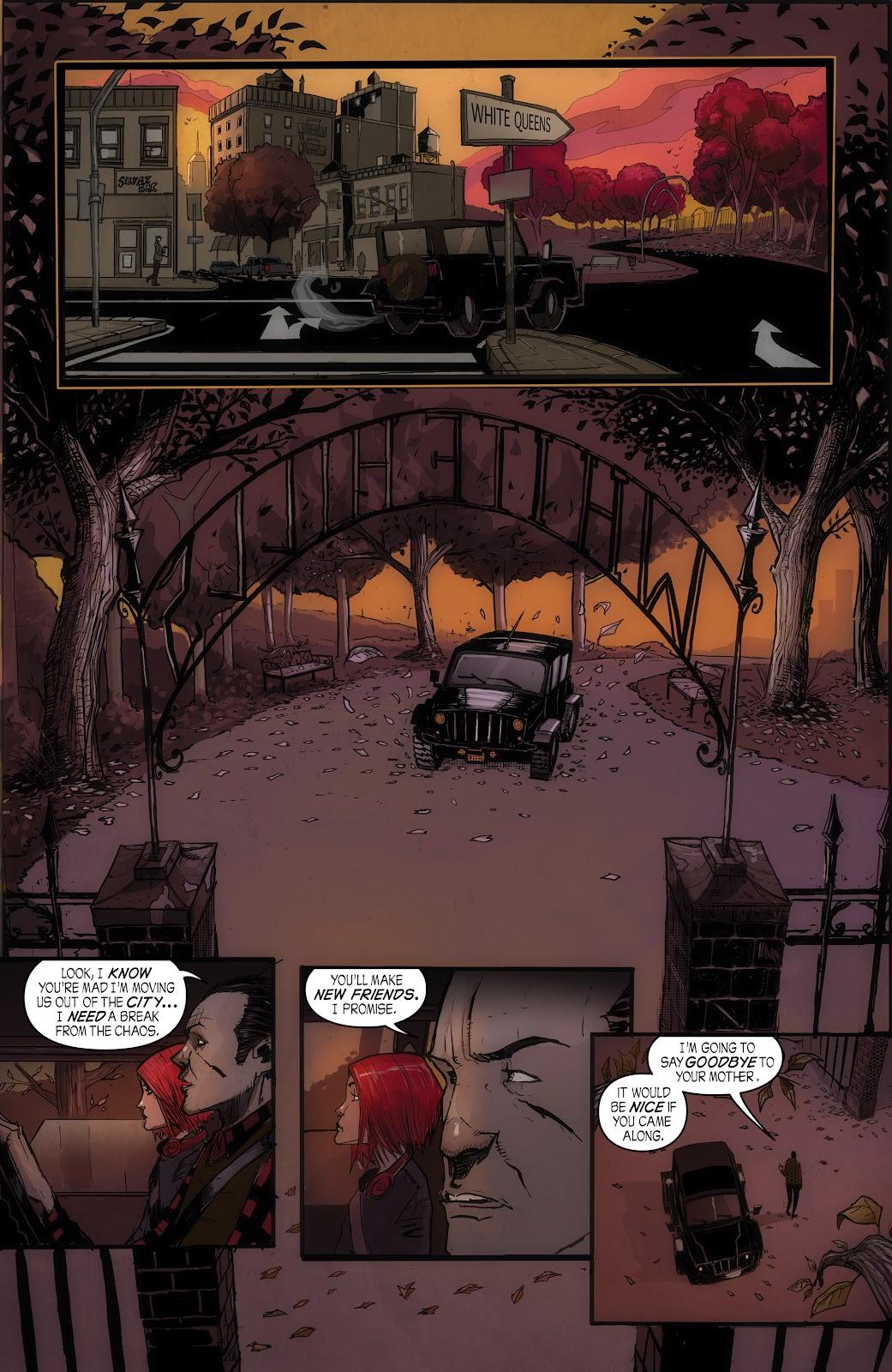 Read online John Carpenter Presents Storm Kids: Monica Bleue: A Werewolf Story comic -  Issue #1 - 8