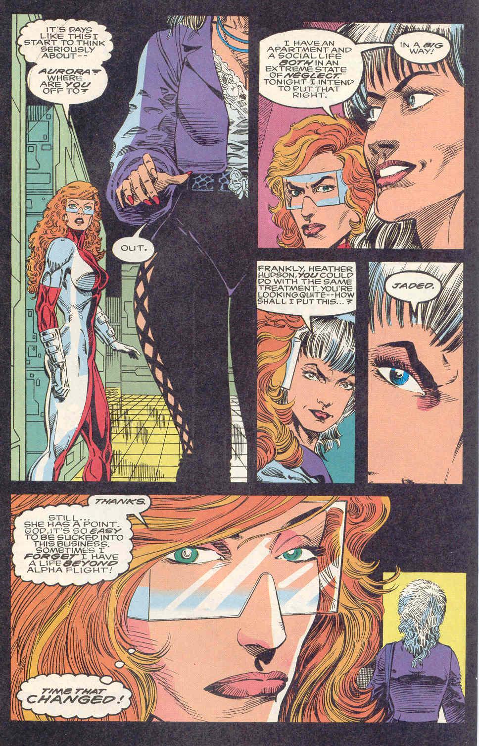 Read online Alpha Flight (1983) comic -  Issue #122 - 8