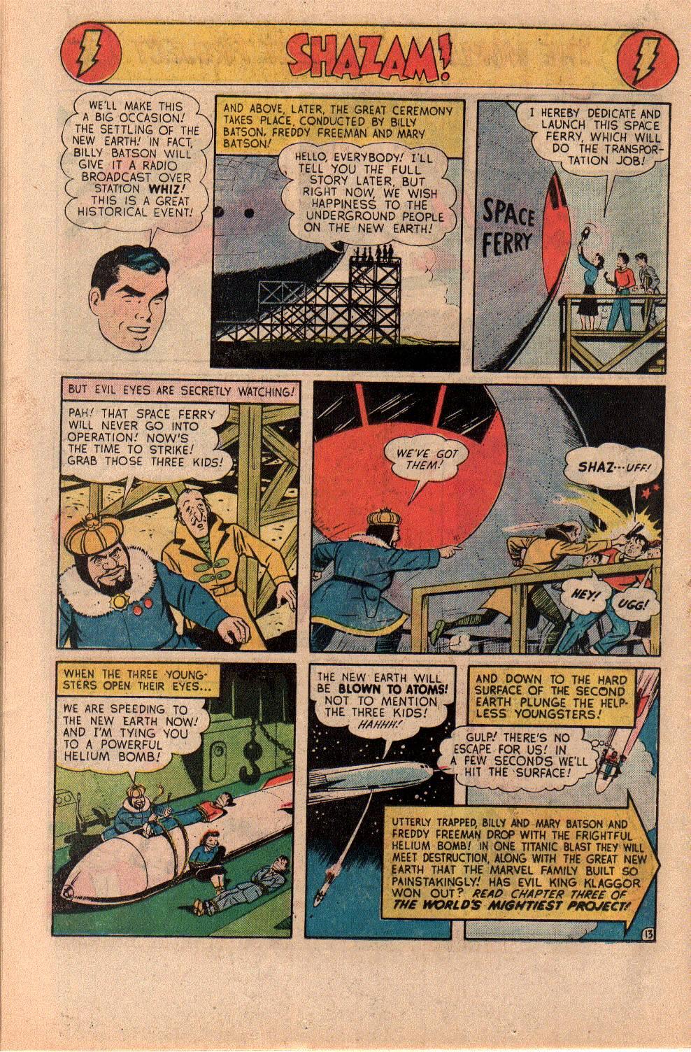 Read online Shazam! (1973) comic -  Issue #23 - 26