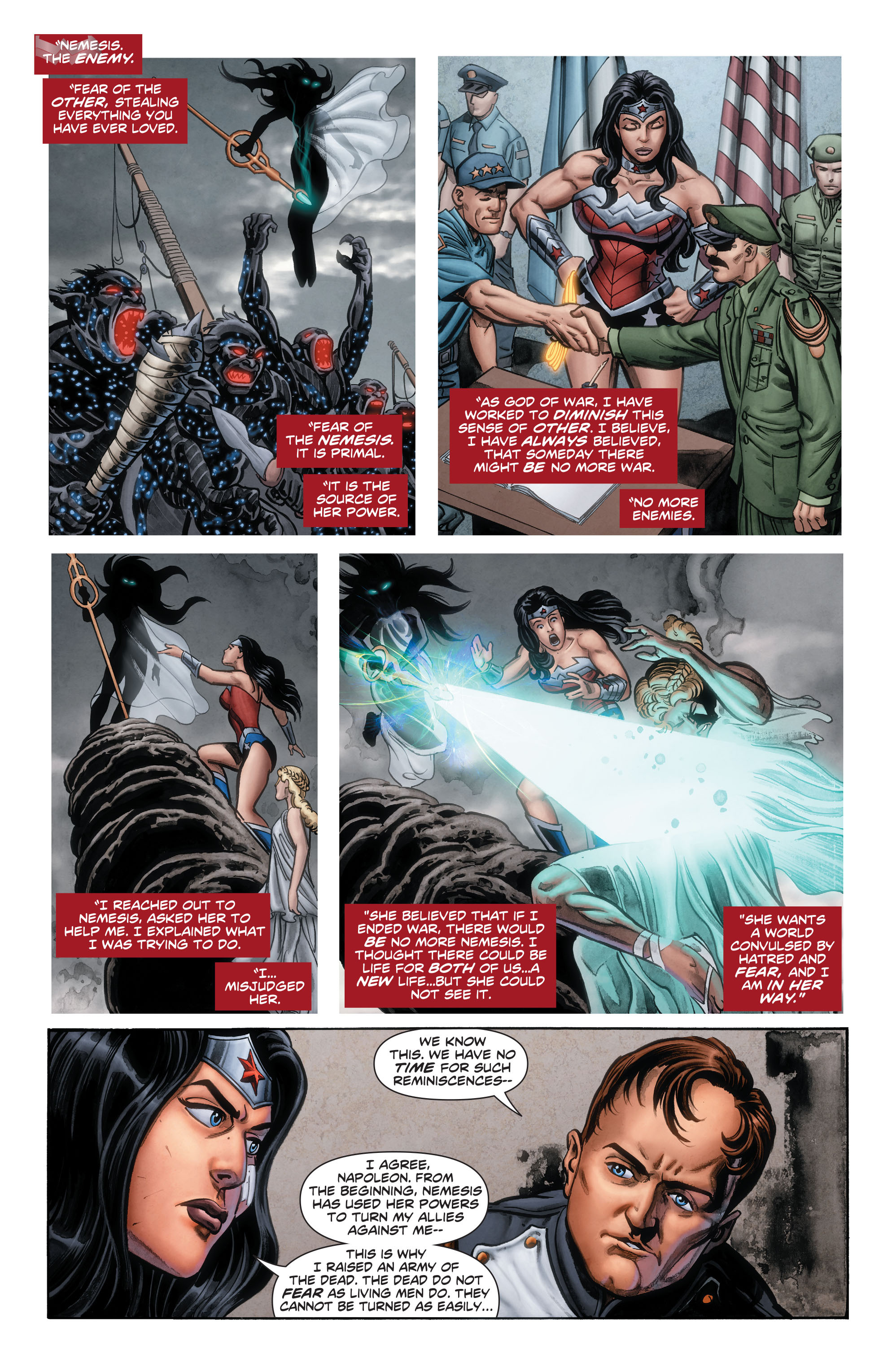 Read online Wonder Woman: Futures End comic -  Issue # Full - 15