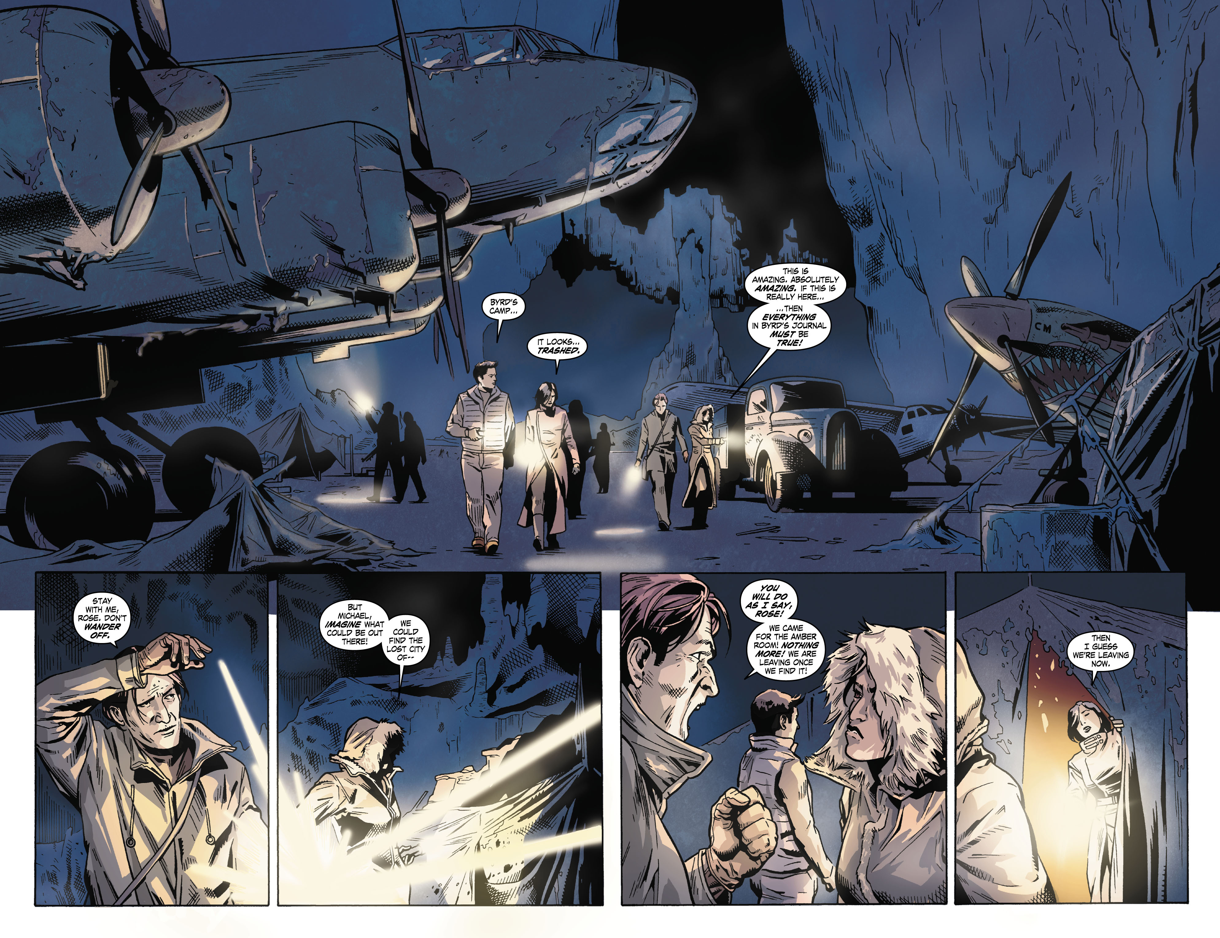 Read online Uncharted comic -  Issue #3 - 20