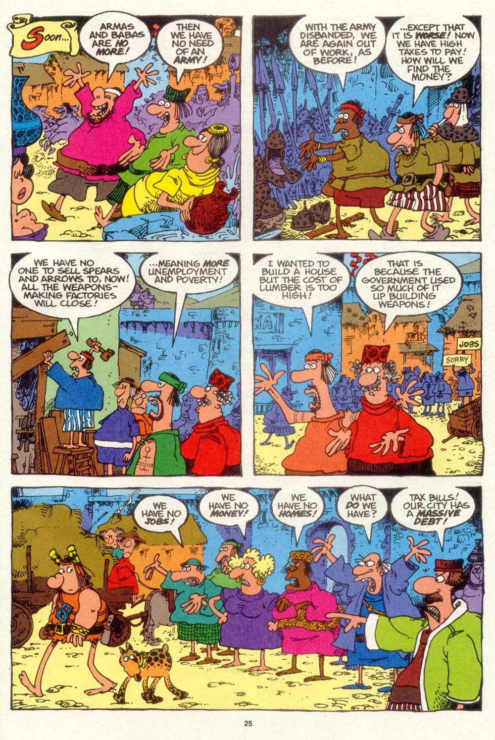 Read online Sergio Aragonés Groo the Wanderer comic -  Issue #109 - 27