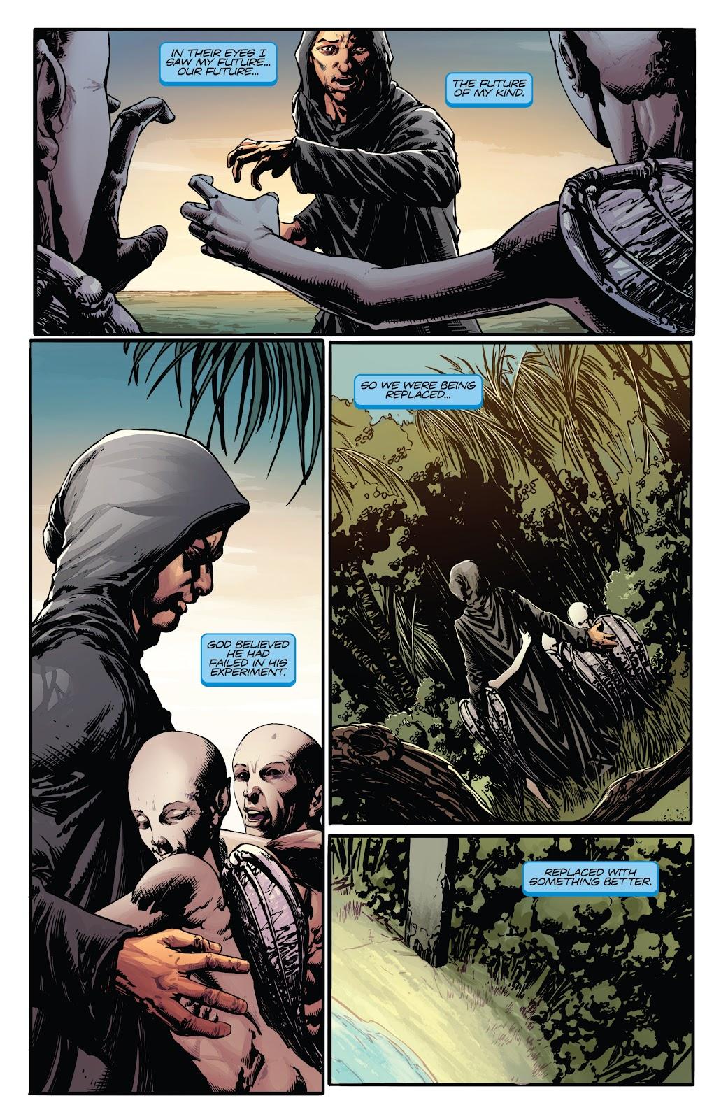 Read online Vampirella Strikes comic -  Issue #5 - 6