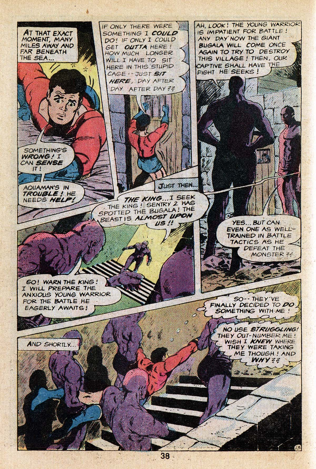 Read online Adventure Comics (1938) comic -  Issue #495 - 38