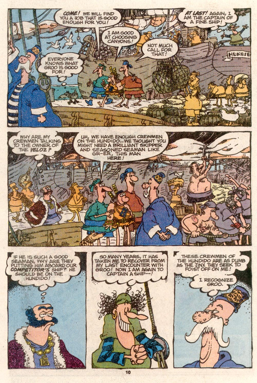 Read online Sergio Aragonés Groo the Wanderer comic -  Issue #69 - 8