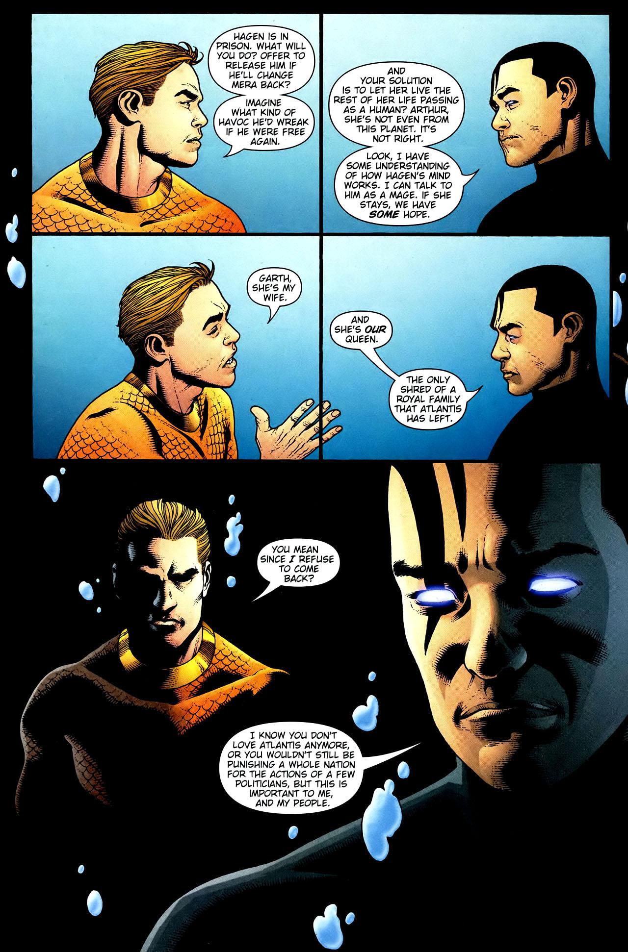 Read online Aquaman (2003) comic -  Issue #34 - 9