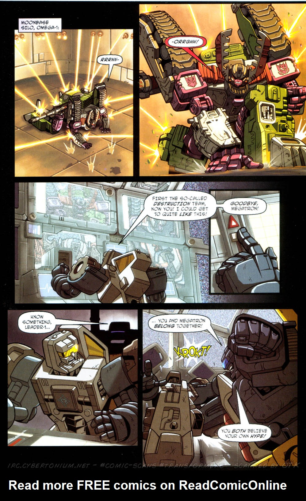 Read online Transformers Armada comic -  Issue #11 - 19
