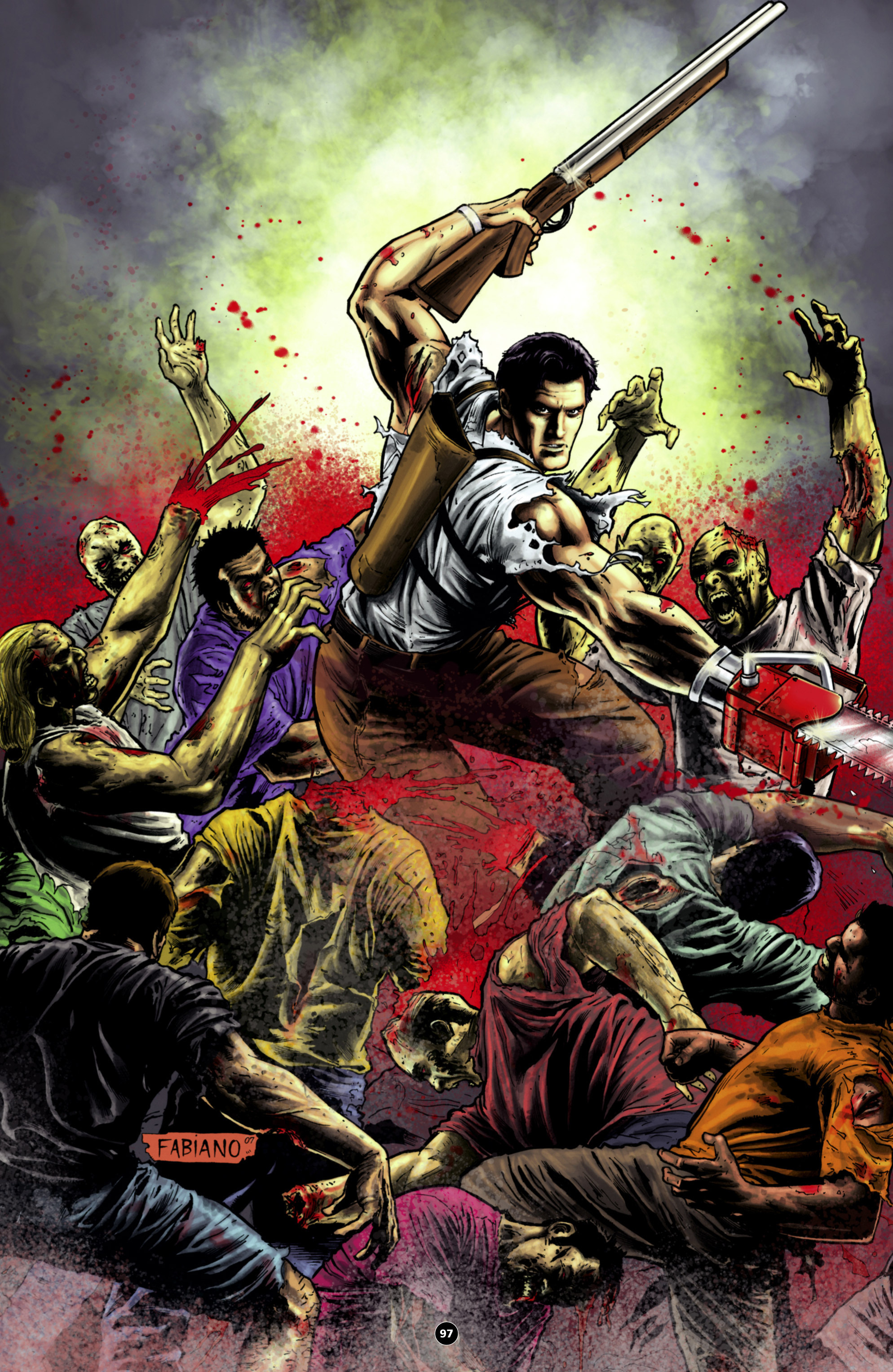 Read online Army of Darkness: The Long Road Home comic -  Issue #Army of Darkness: The Long Road Home TPB - 110