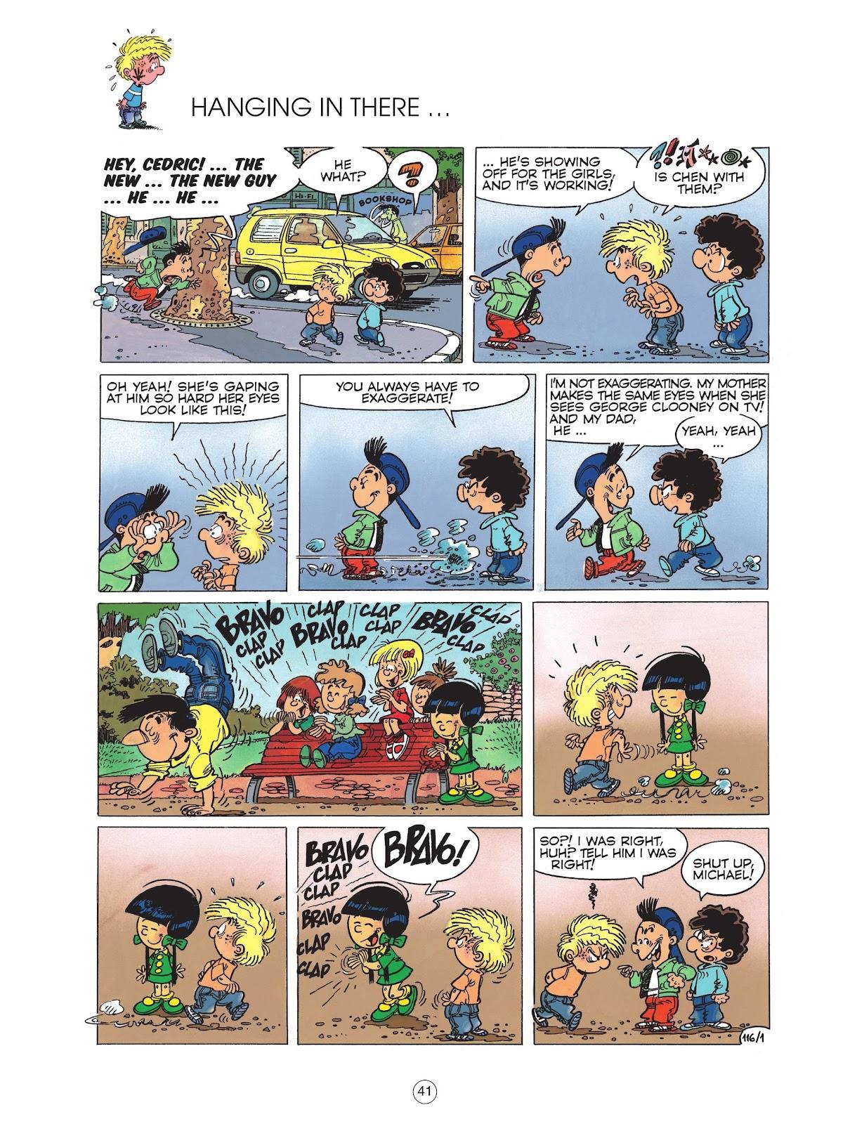 Read online Cedric comic -  Issue #6 - 43