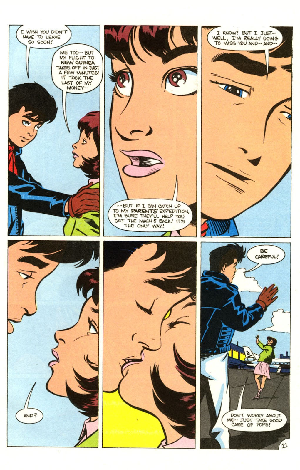 Speed Racer (1987) issue 30 - Page 12