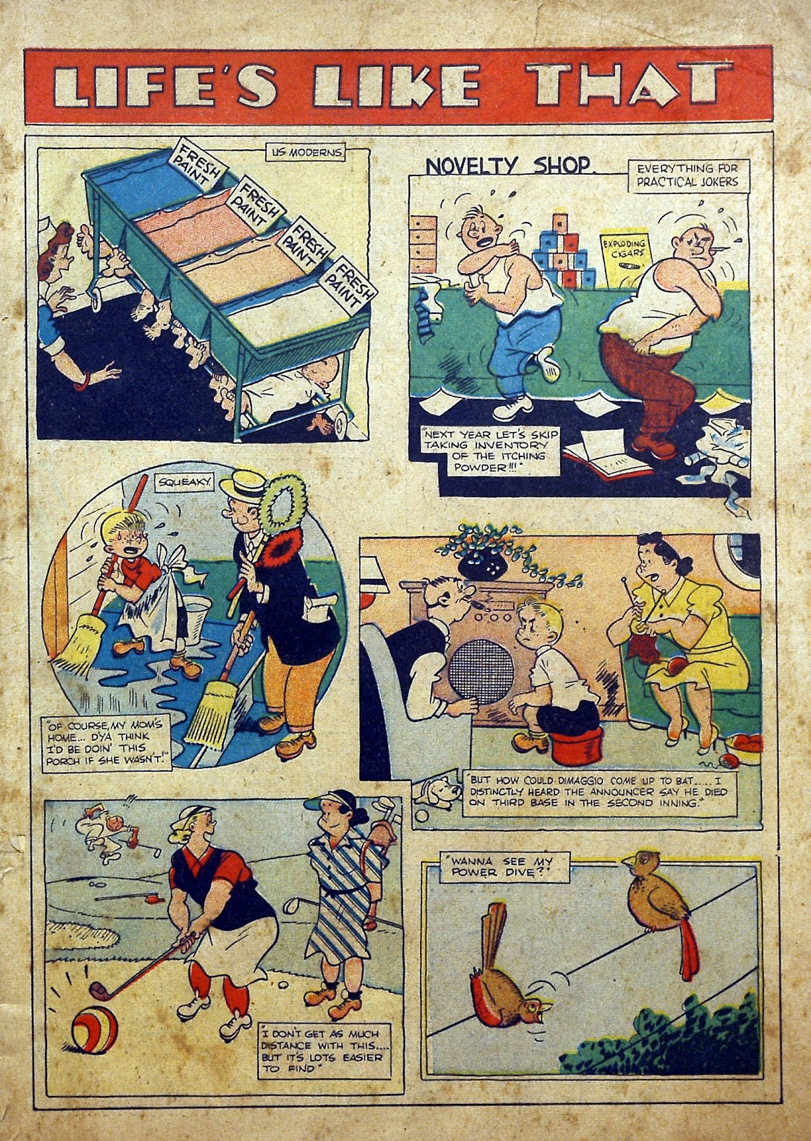 Read online Famous Funnies comic -  Issue #97 - 2