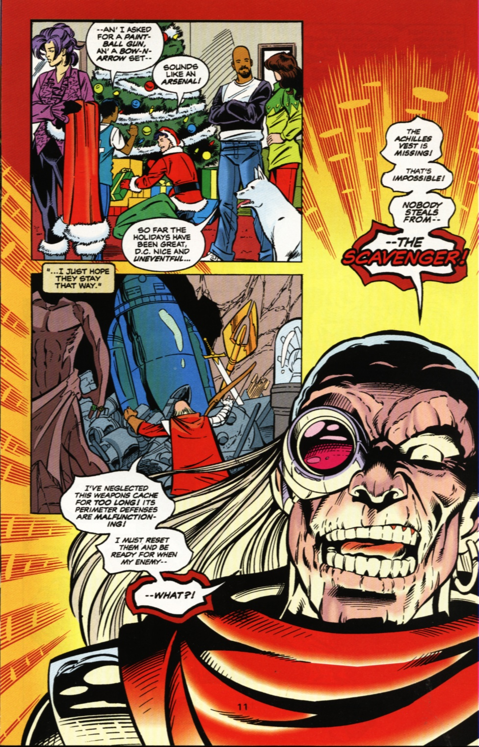 Read online Superboy & The Ravers comic -  Issue #5 - 12