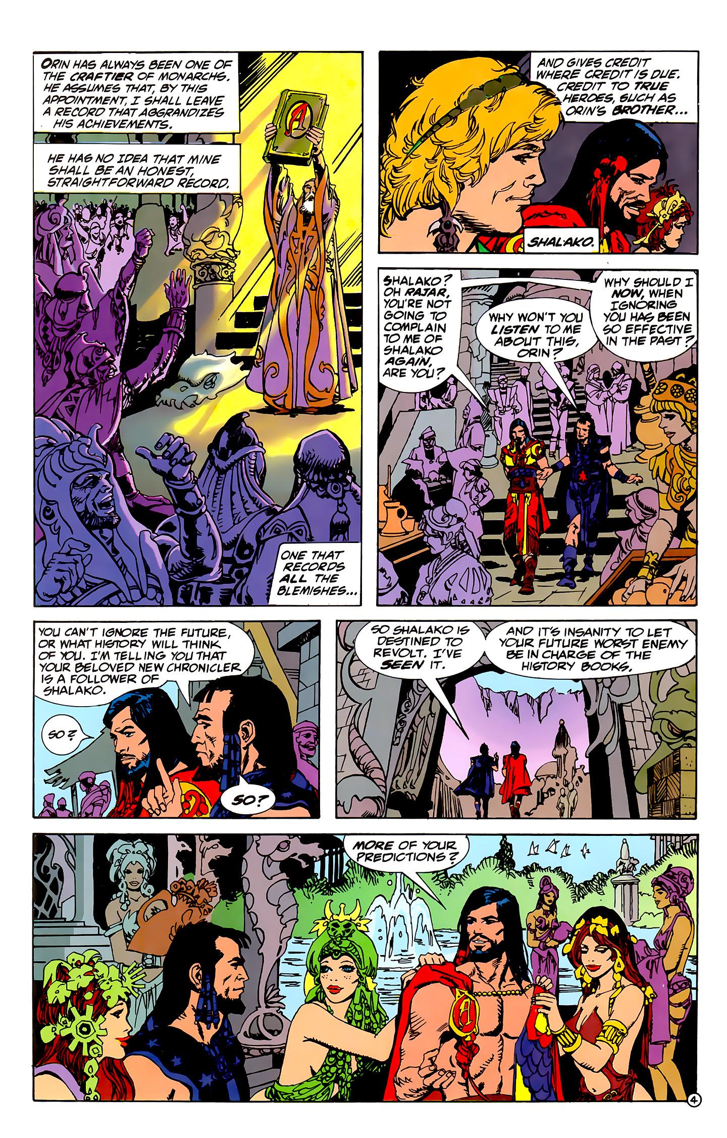 Read online Atlantis Chronicles comic -  Issue #1 - 5