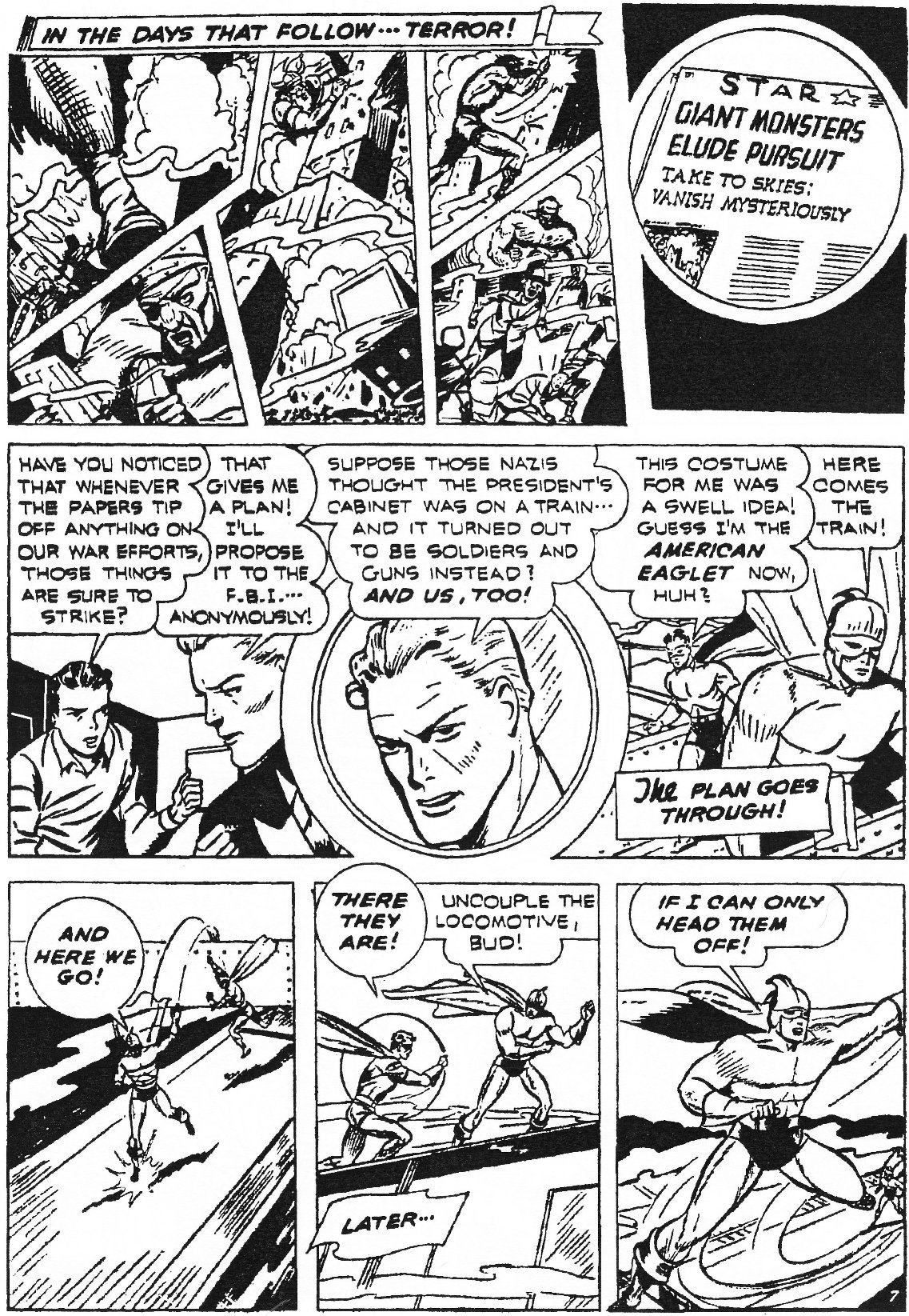 Read online Men of Mystery Comics comic -  Issue #84 - 88