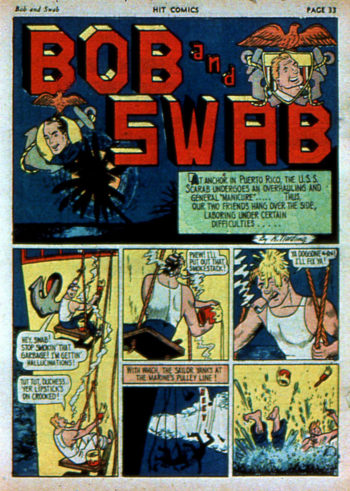 Read online Hit Comics comic -  Issue #3 - 35