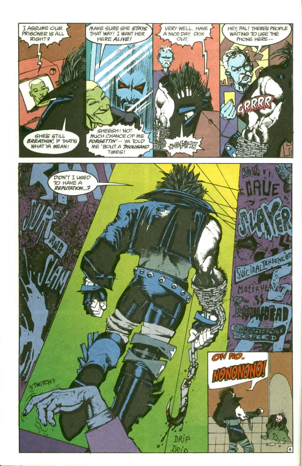 Read online Lobo (1990) comic -  Issue #2 - 5