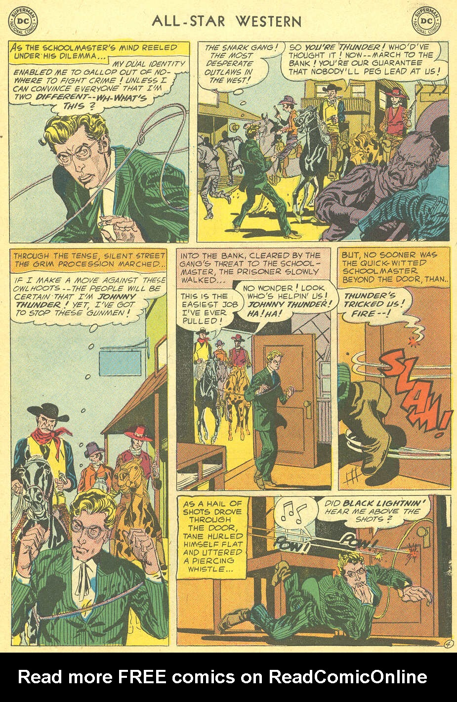Read online All-Star Western (1951) comic -  Issue #92 - 31