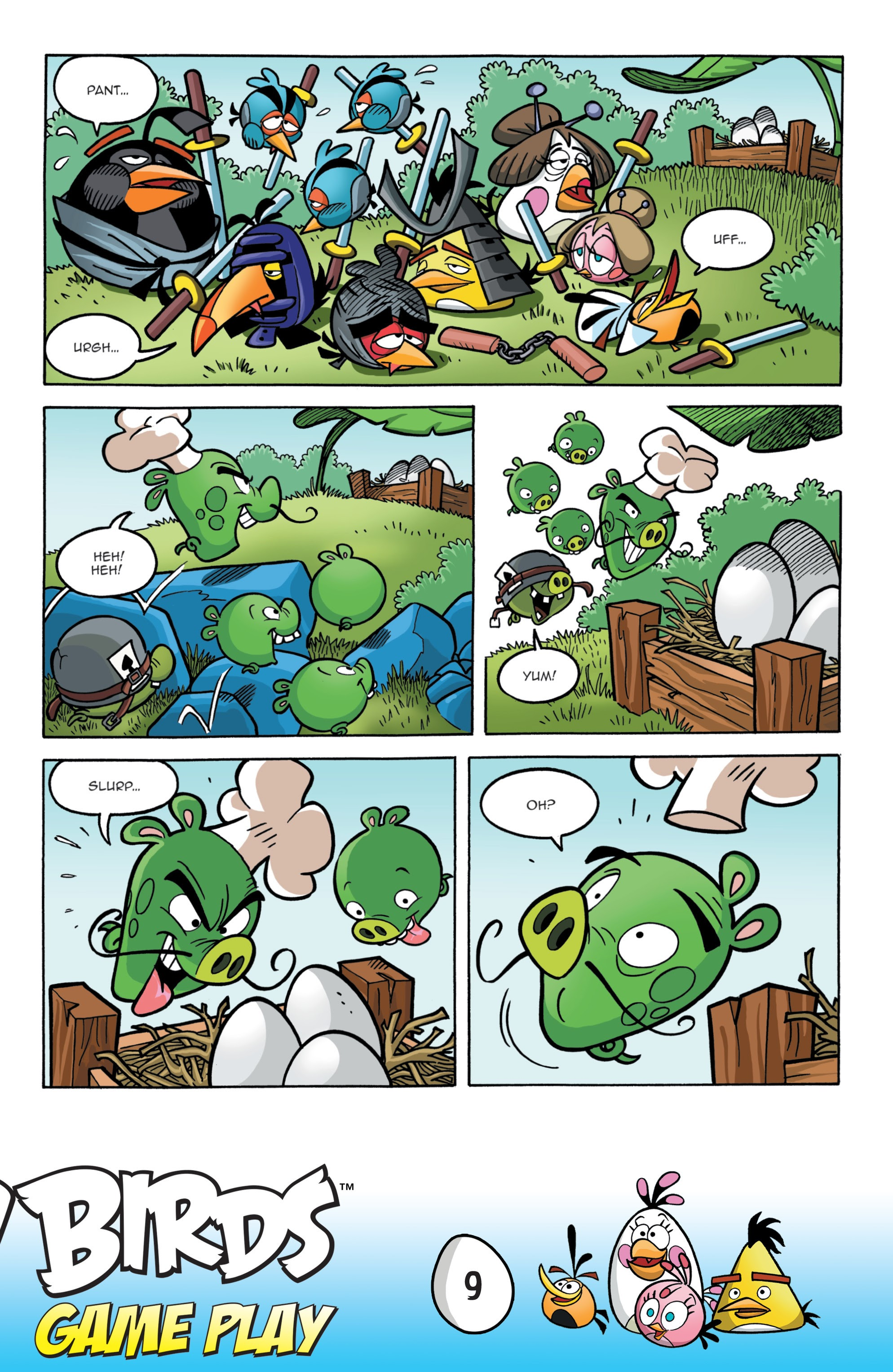 Read online Angry Birds Comics: Game Play comic -  Issue #1 - 11