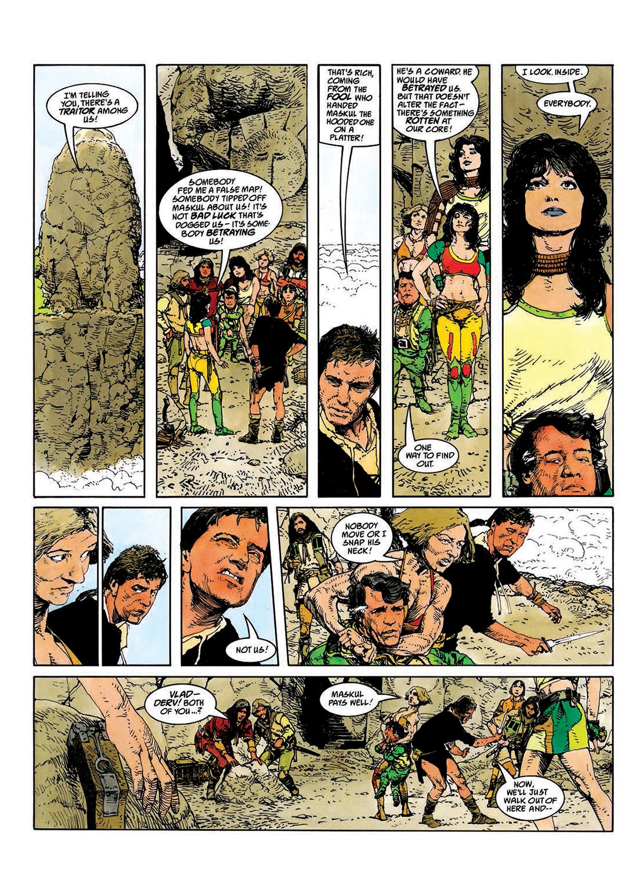 Read online Mazeworld comic -  Issue # TPB - 37