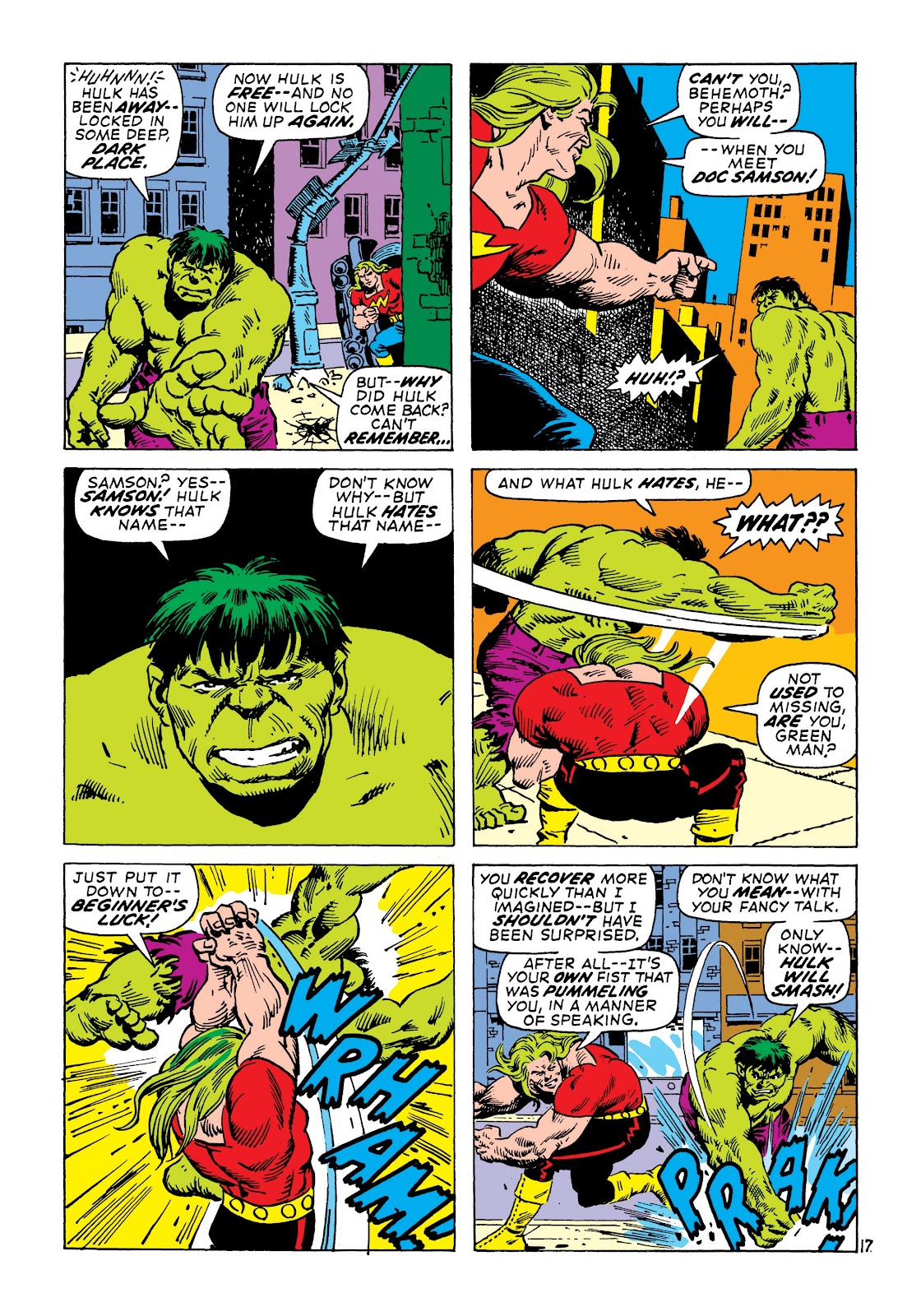 Read online Marvel Masterworks: The Incredible Hulk comic -  Issue # TPB 7 (Part 2) - 63