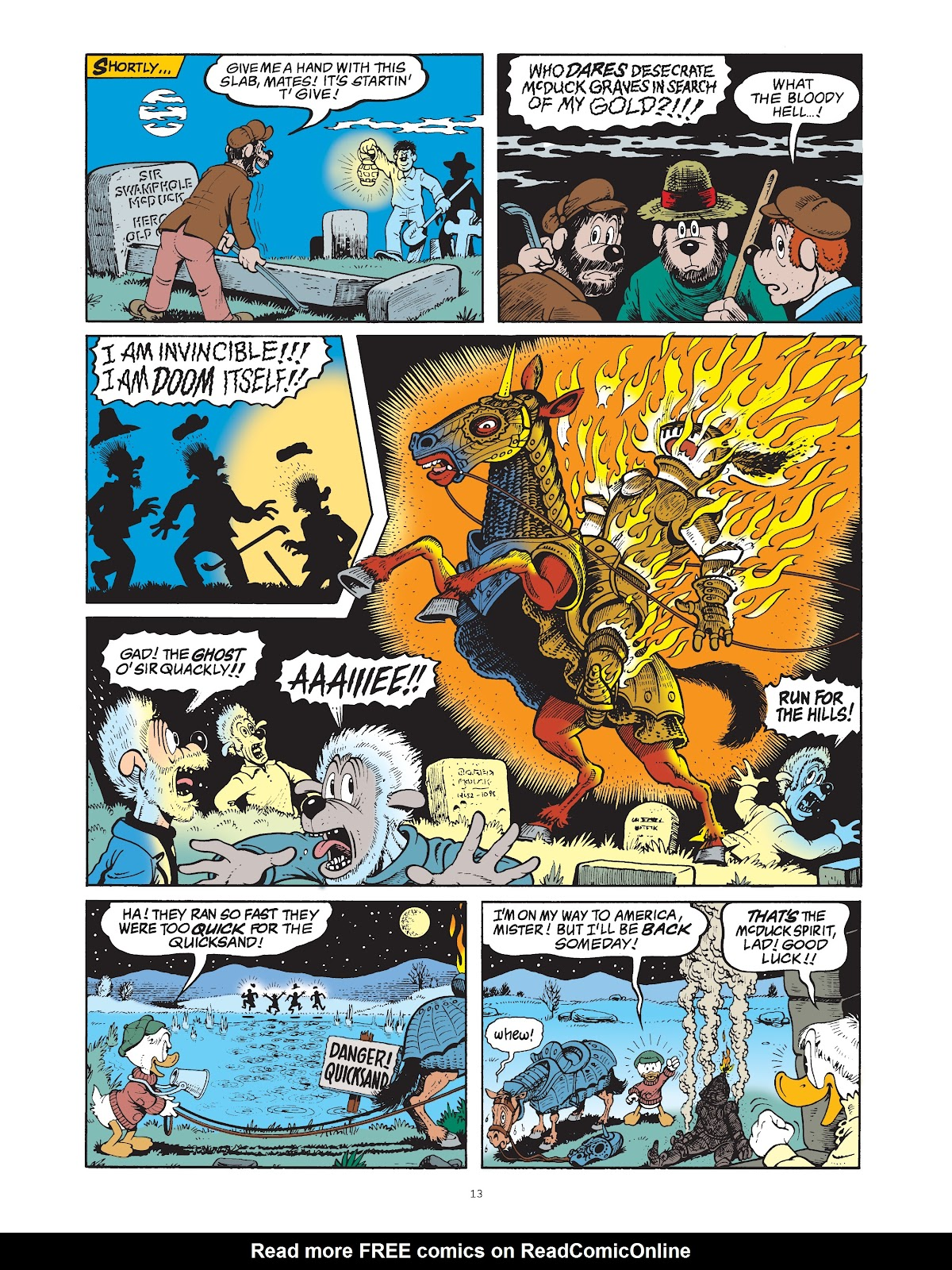 Read online The Complete Life and Times of Scrooge McDuck comic -  Issue # TPB 1 (Part 1) - 21