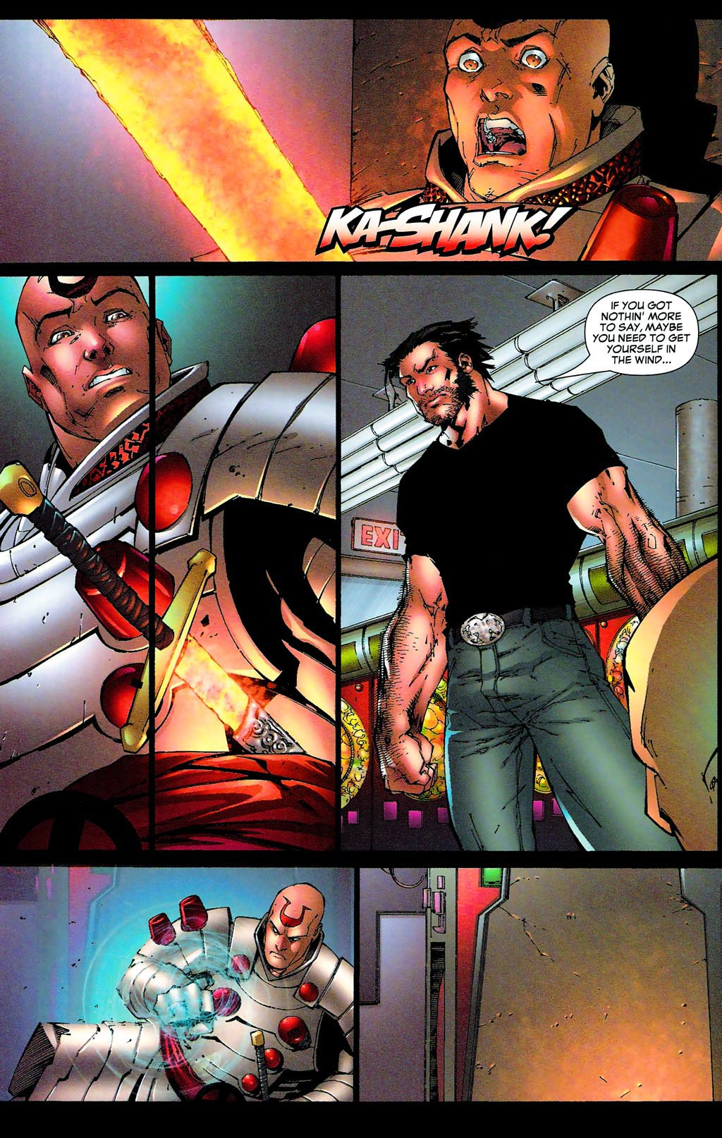 Read online Age of Apocalypse (2005) comic -  Issue #0 - 23