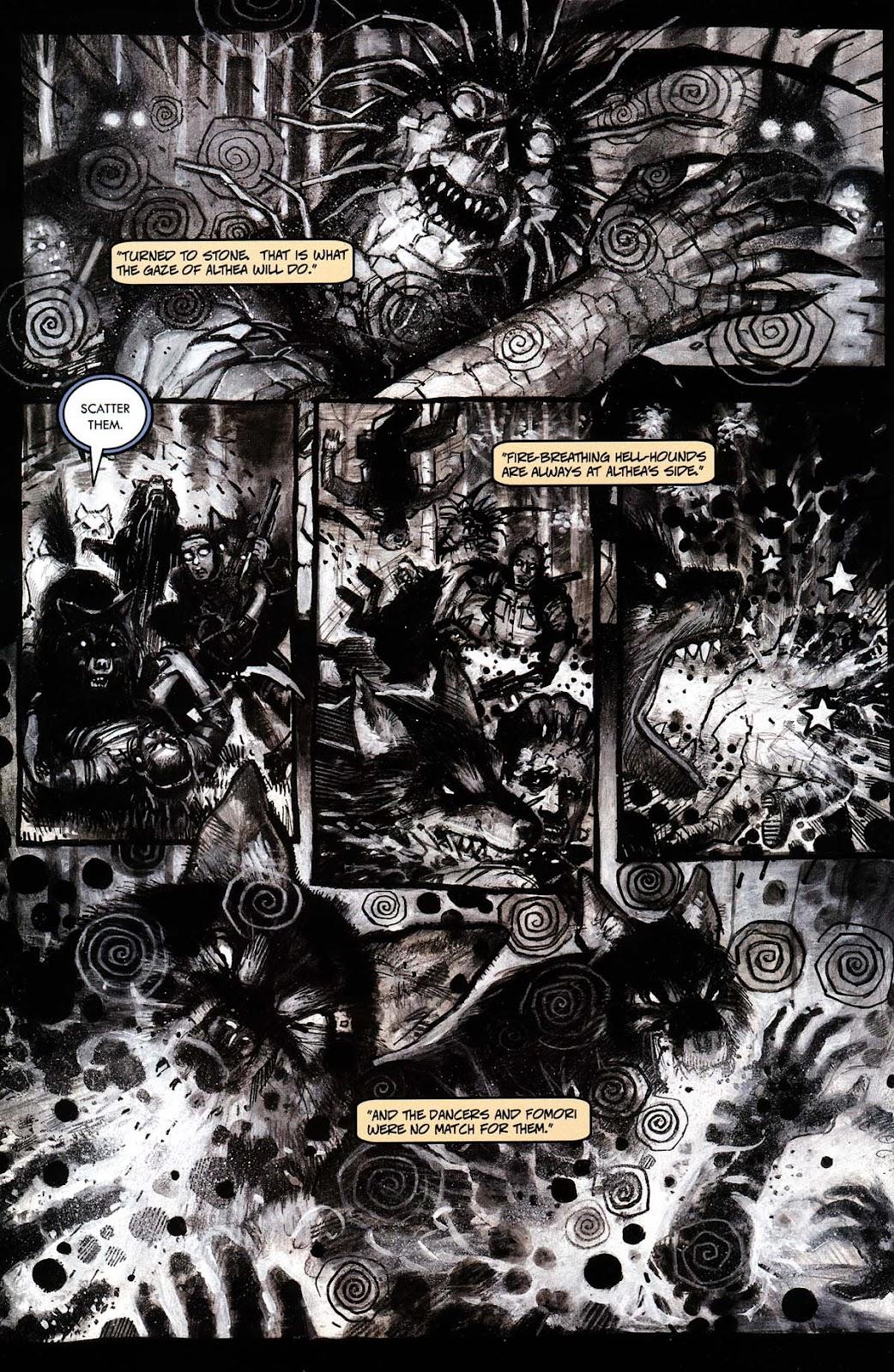 Read online Werewolf the Apocalypse comic -  Issue # Black Furies - 34