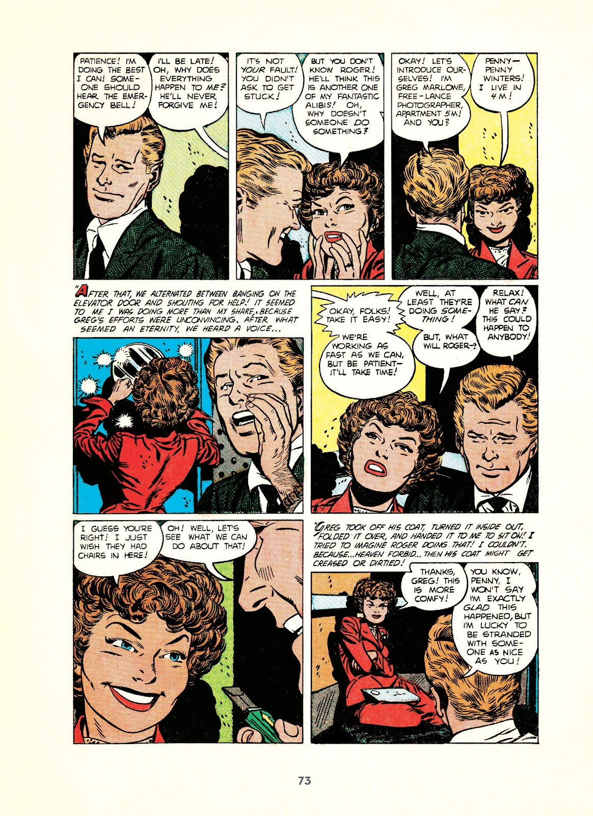 Read online Setting the Standard: Comics by Alex Toth 1952-1954 comic -  Issue # TPB (Part 1) - 72