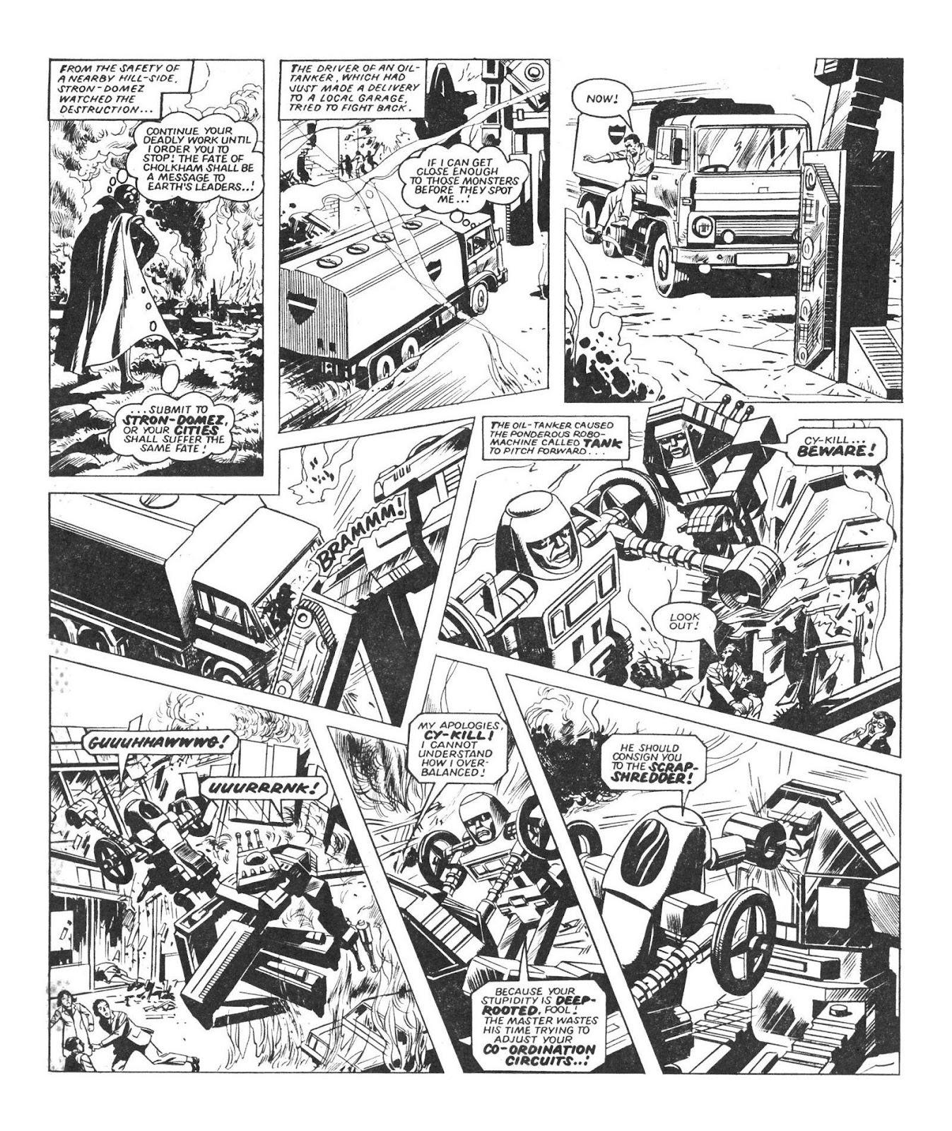 Read online Robo Machines comic -  Issue # TPB - 19