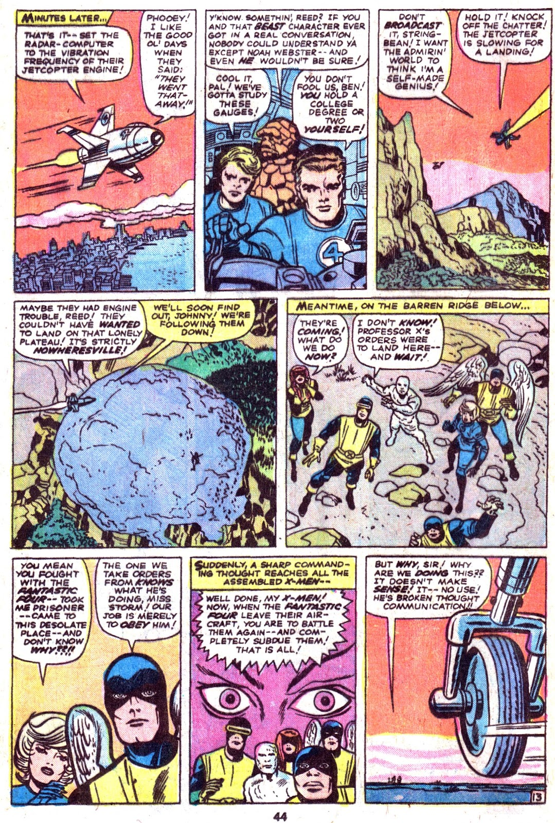 Giant-Size Fantastic Four issue 4 - Page 46
