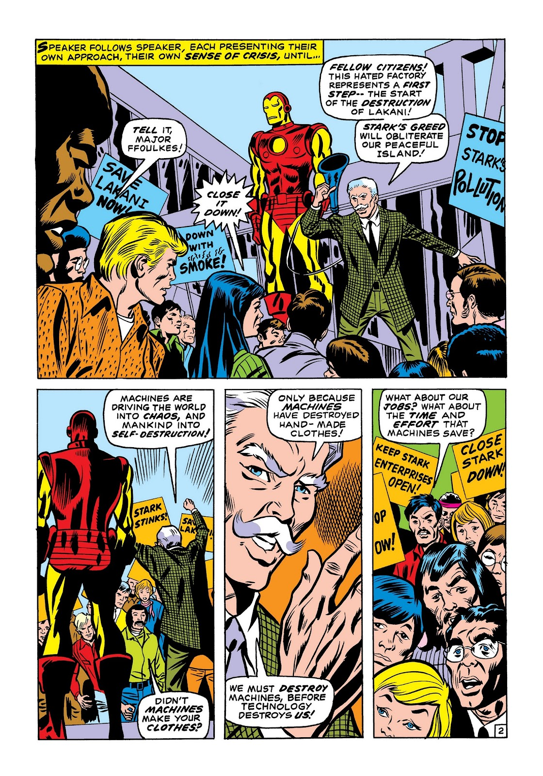 Read online Marvel Masterworks: The Invincible Iron Man comic -  Issue # TPB 7 (Part 2) - 11