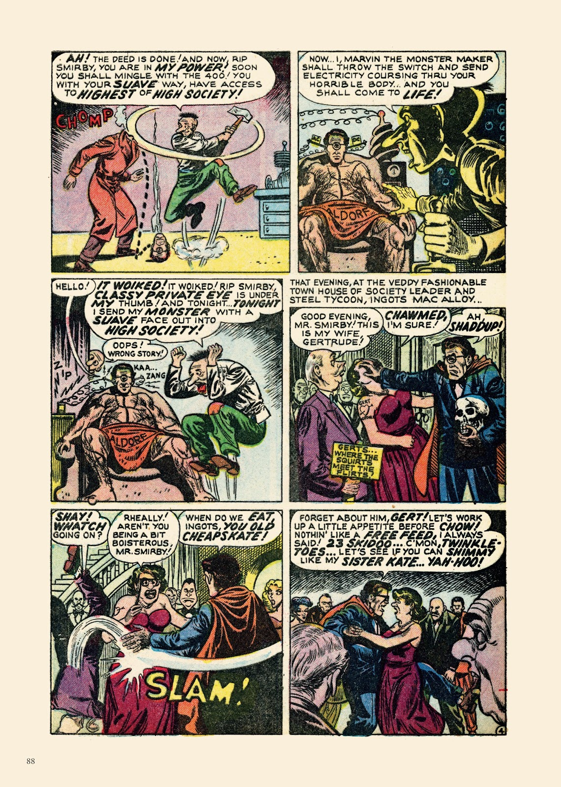 Read online Sincerest Form of Parody: The Best 1950s MAD-Inspired Satirical Comics comic -  Issue # TPB (Part 1) - 89