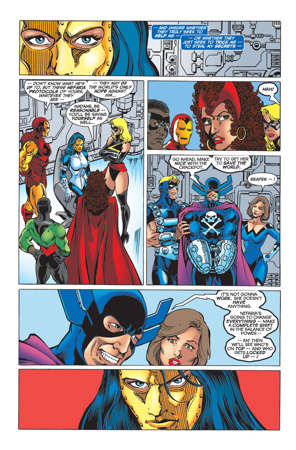 Read online Avengers (1998) comic -  Issue #33 - 16