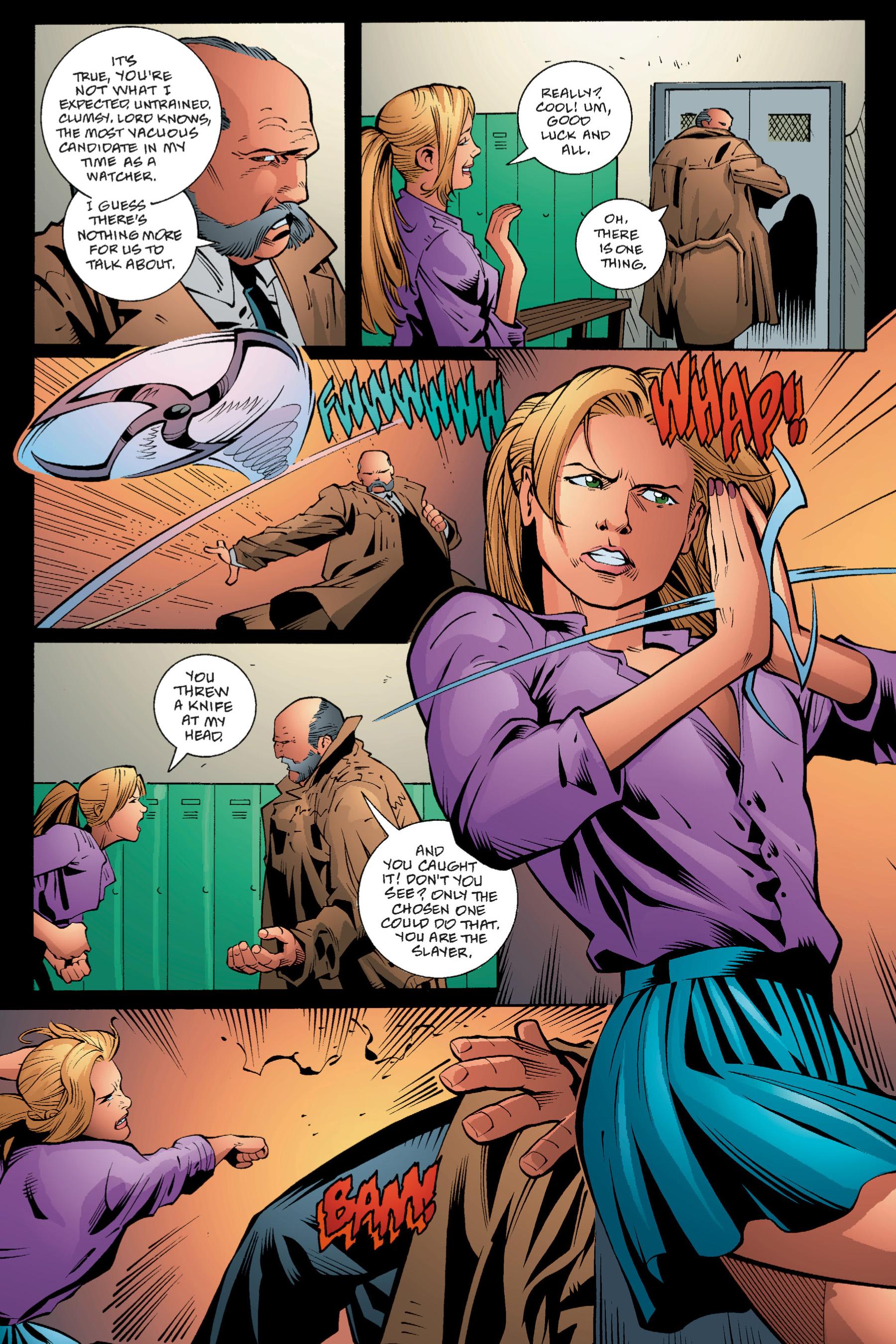 Read online Buffy the Vampire Slayer: Omnibus comic -  Issue # TPB 1 - 61
