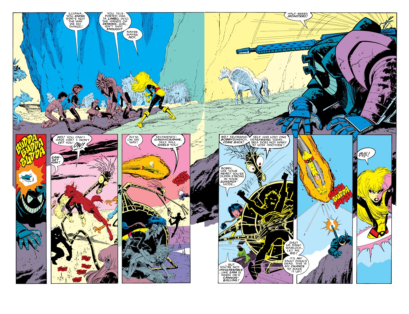 Read online X-Men Milestones: Fall of the Mutants comic -  Issue # TPB (Part 2) - 59