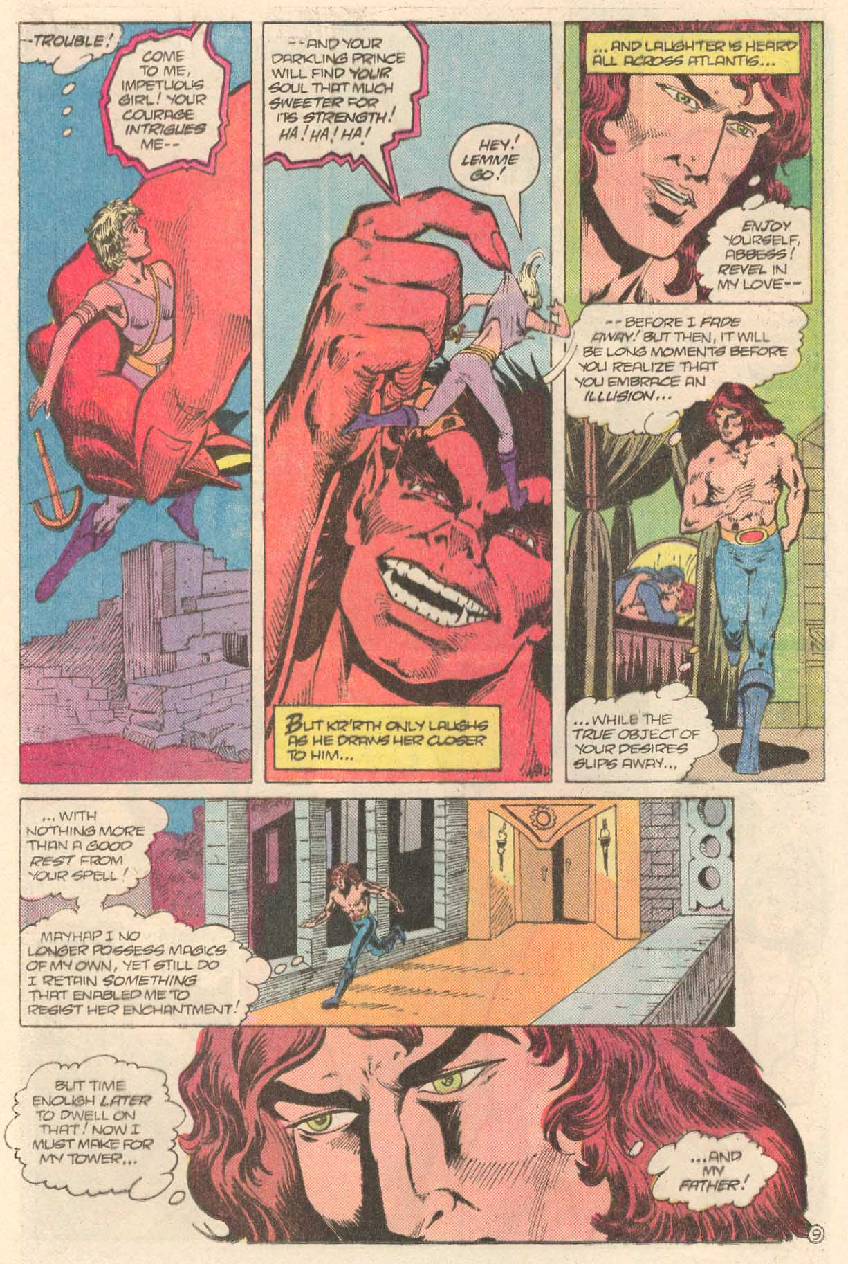 Read online Arion, Lord of Atlantis comic -  Issue #27 - 10