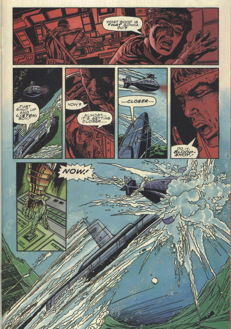 Read online Secret Weapons comic -  Issue #10 - 17