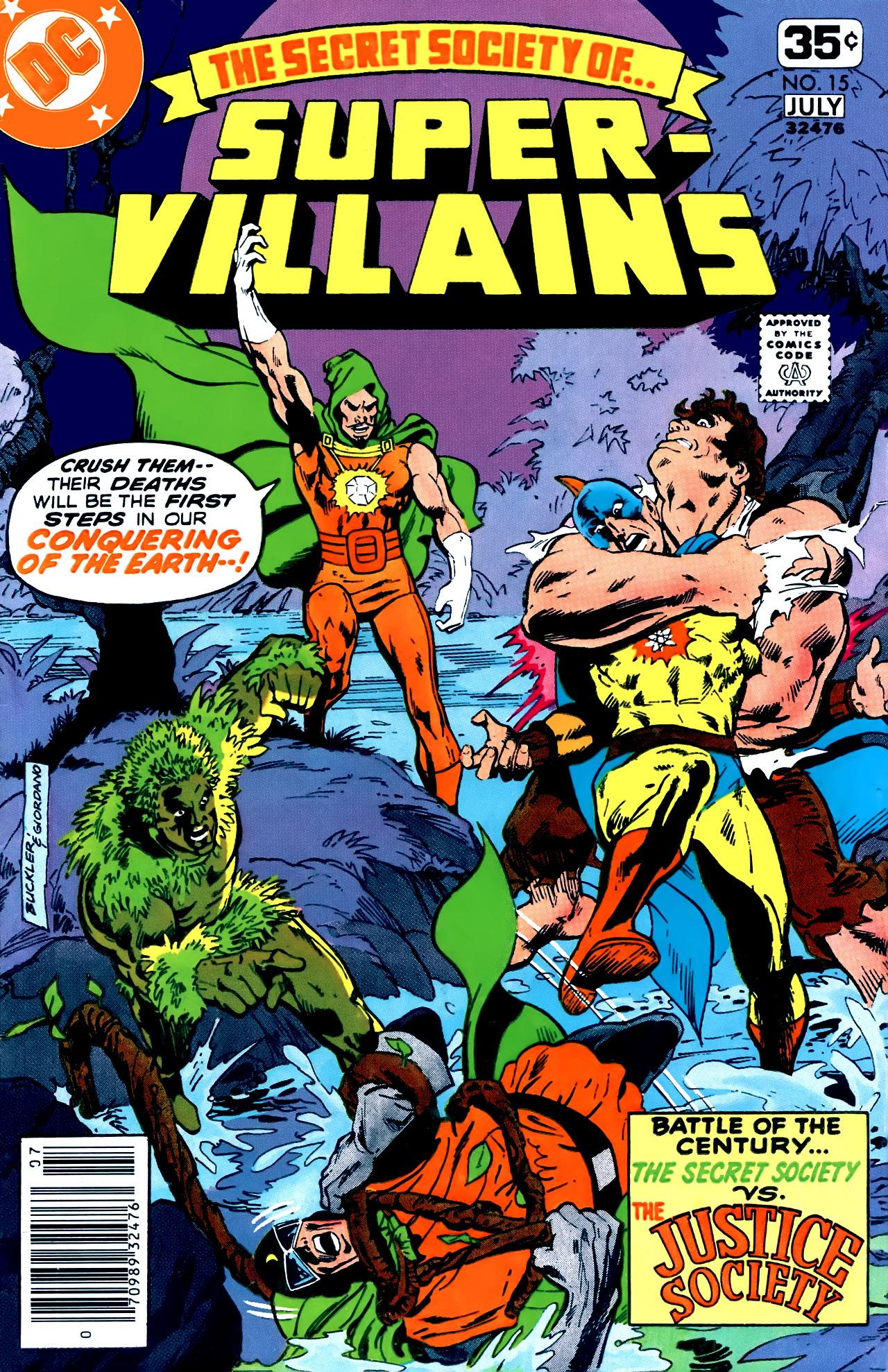 Read online Secret Society of Super-Villains comic -  Issue #15 - 1
