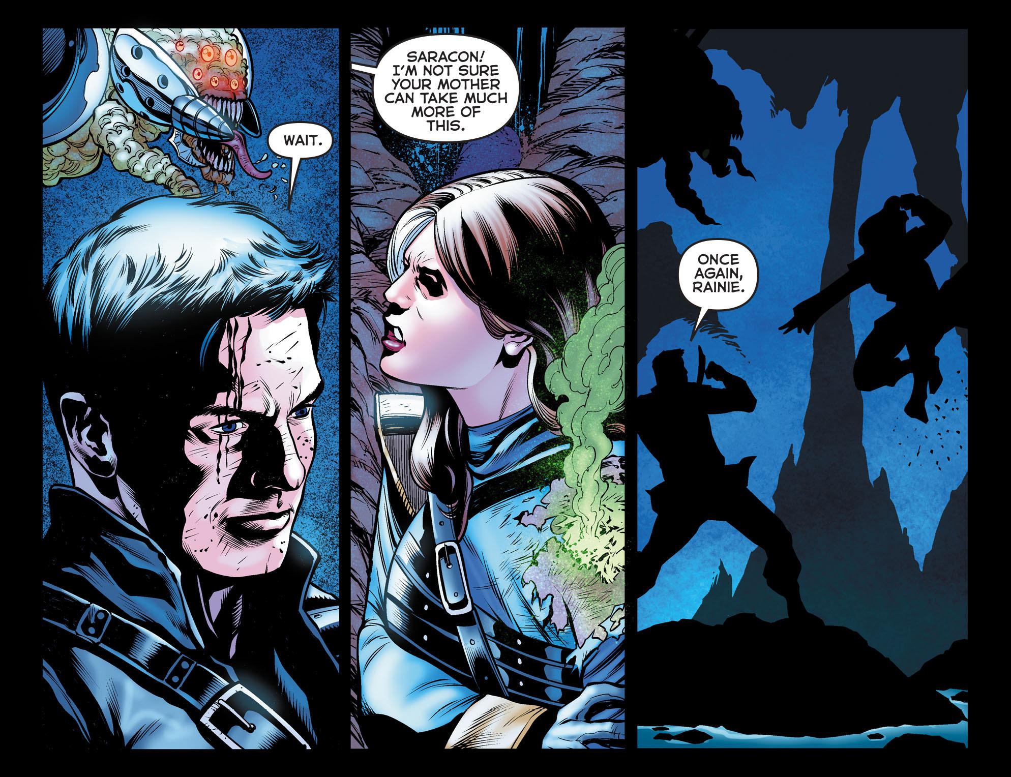 Read online Arrow: The Dark Archer comic -  Issue #10 - 13