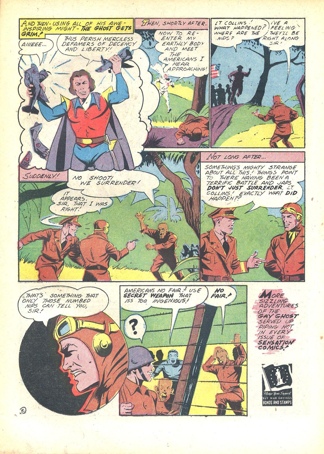Read online Sensation (Mystery) Comics comic -  Issue #23 - 38