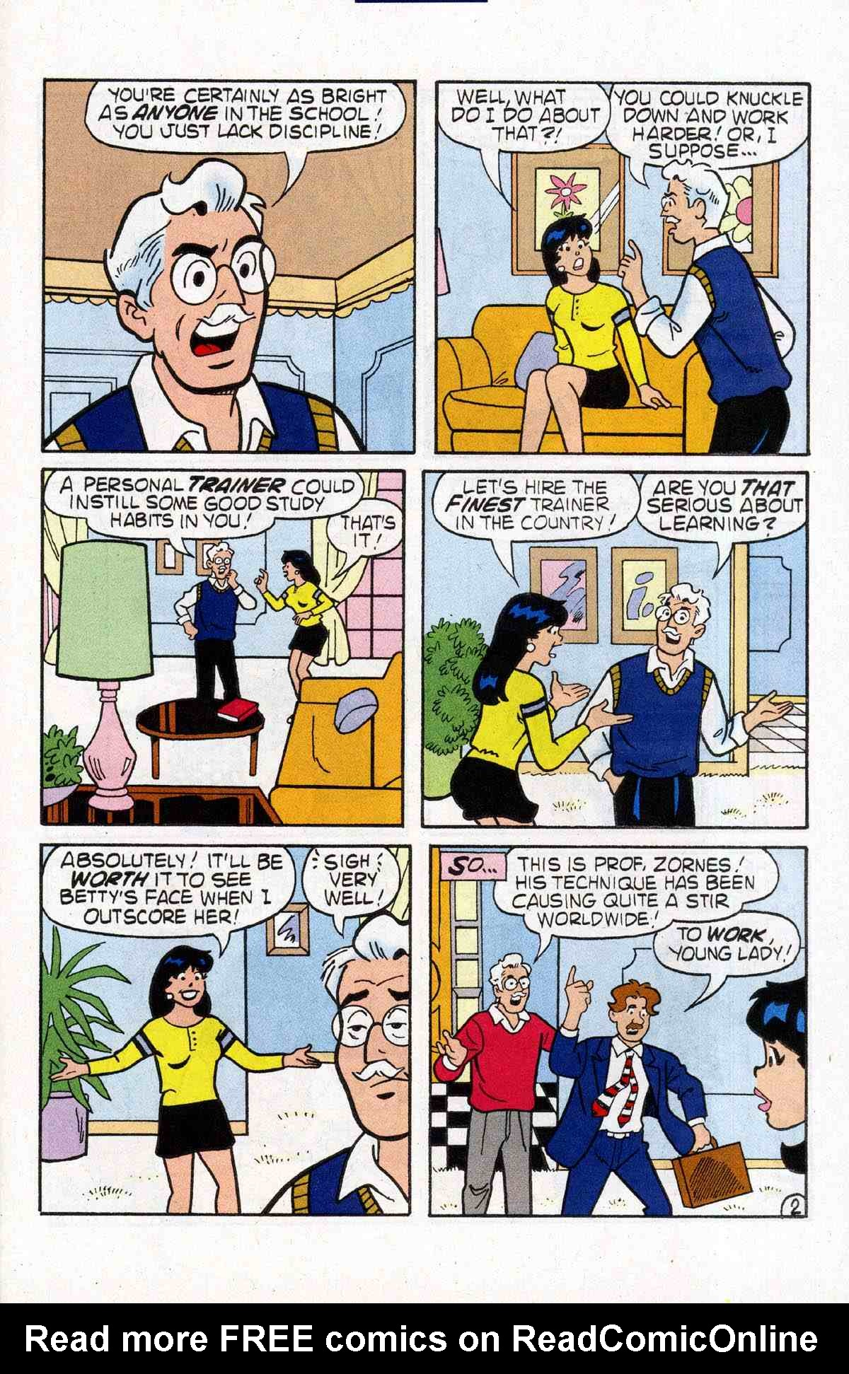 Read online Archie's Girls Betty and Veronica comic -  Issue #184 - 25