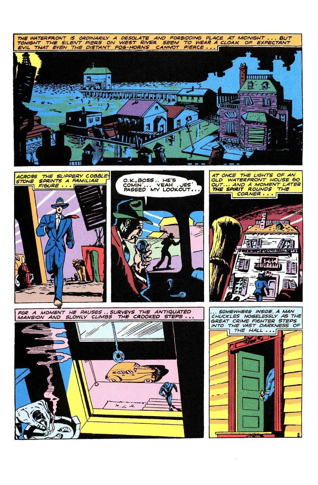 Read online Will Eisner's The Spirit Archives comic -  Issue # TPB 2 (Part 1) - 98