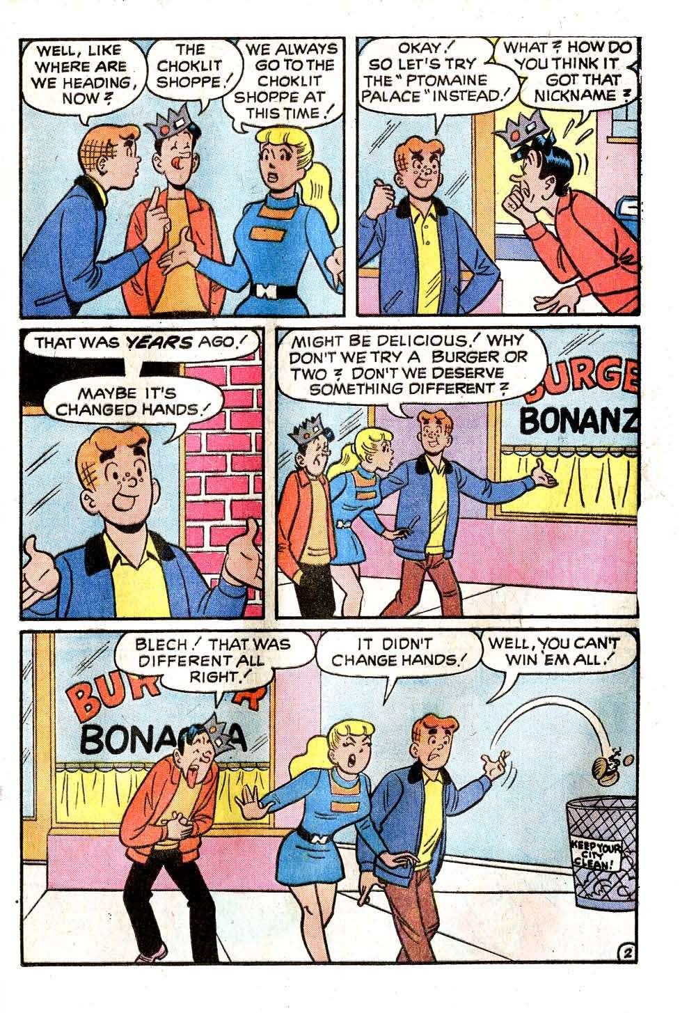 Read online Archie (1960) comic -  Issue #228 - 21