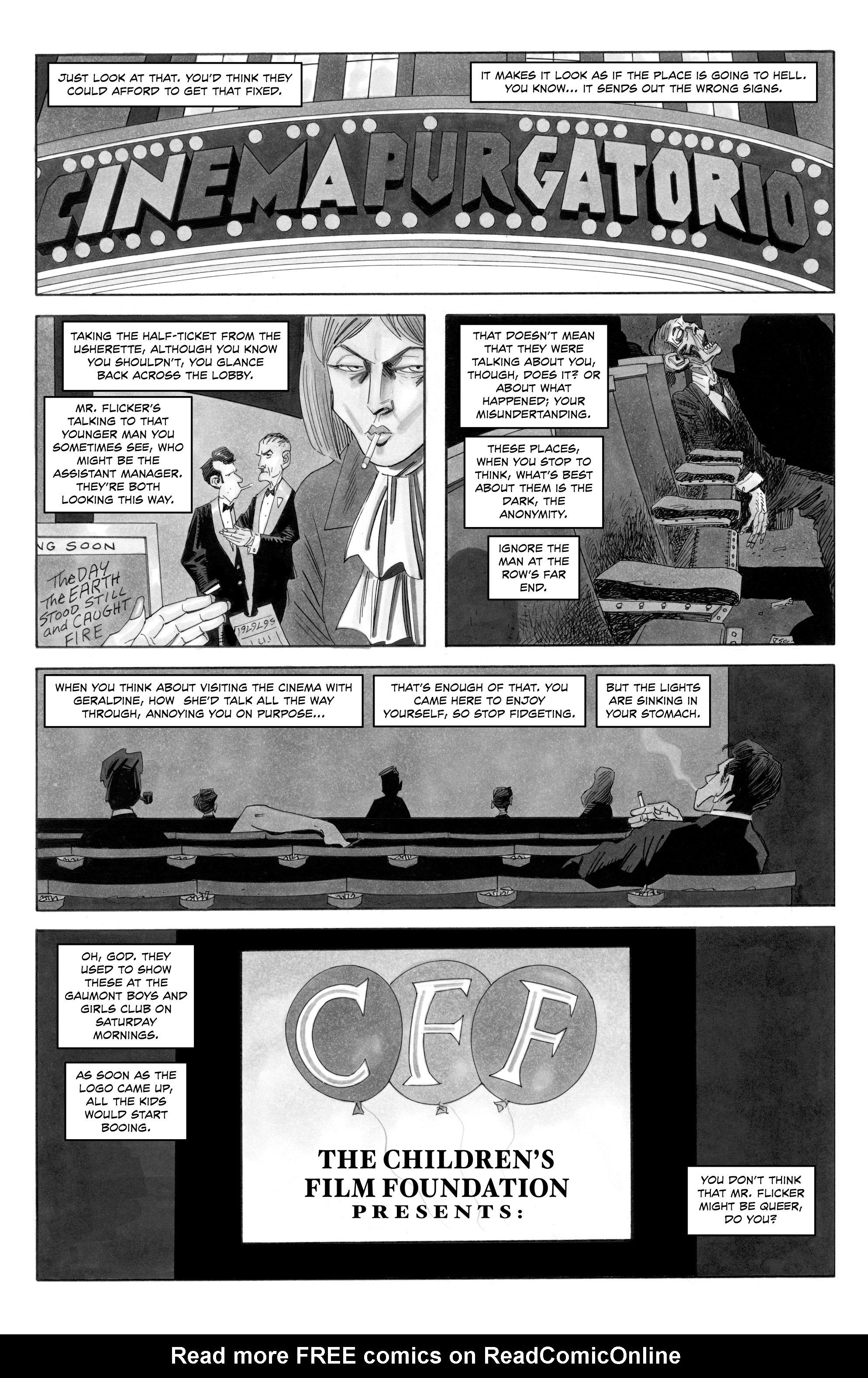Read online Alan Moore's Cinema Purgatorio comic -  Issue #10 - 5