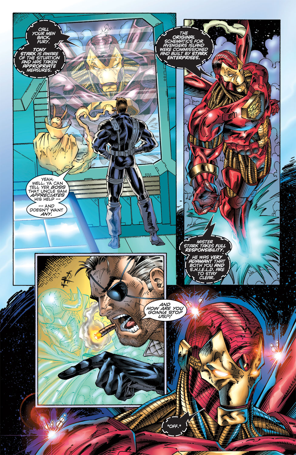 Read online Avengers (1996) comic -  Issue #6 - 14