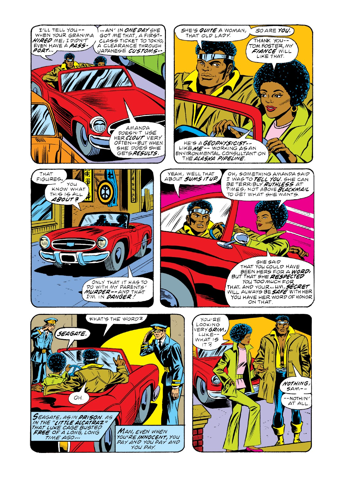 Read online Marvel Masterworks: Luke Cage, Power Man comic -  Issue # TPB 3 (Part 1) - 95